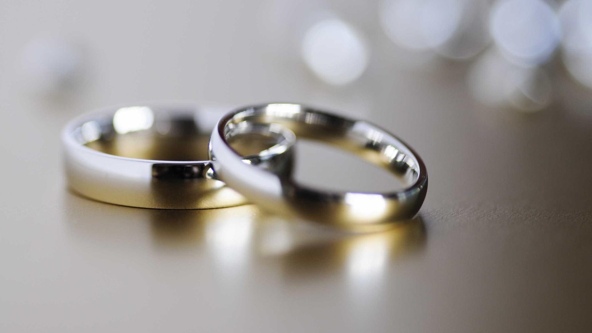 Os noivos mais 'crescidos' do Reino Unido. Juntos, têm 183 anos