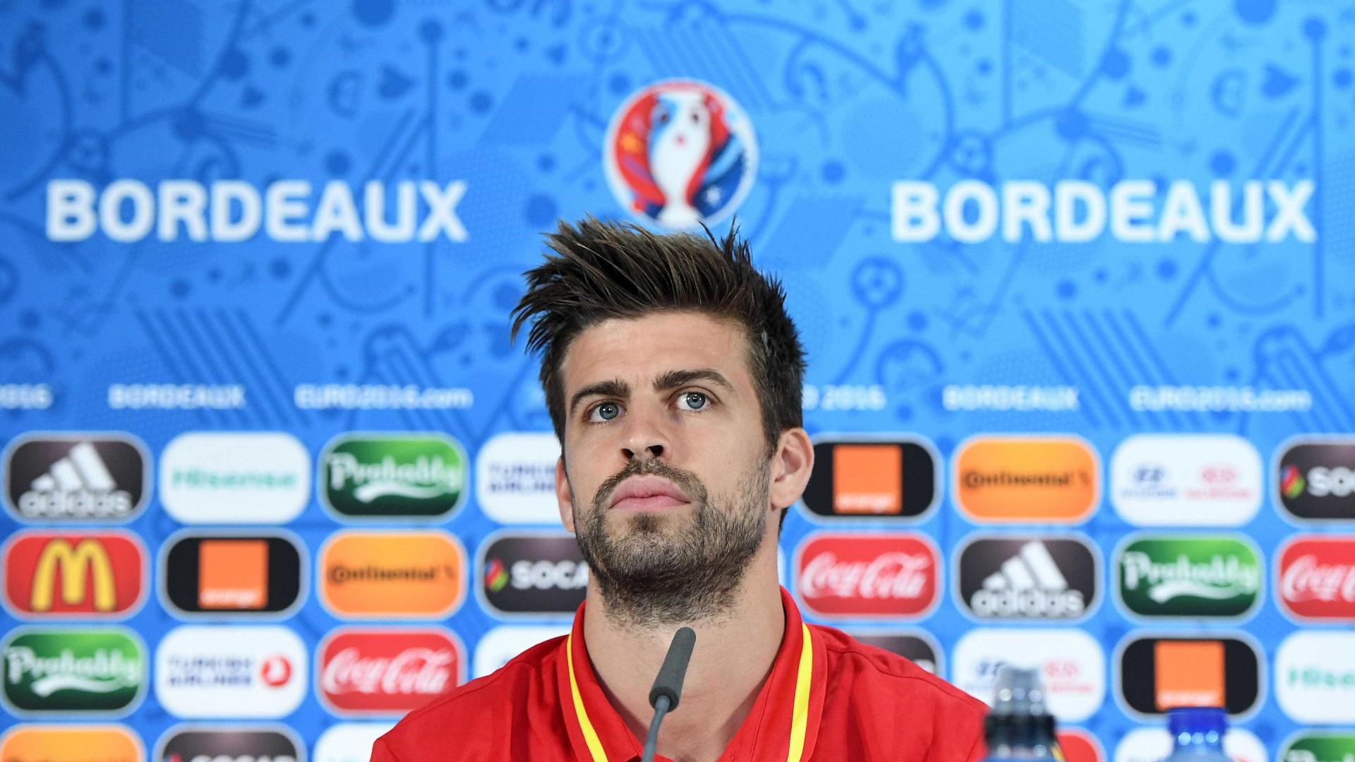 """Piqué inabalável: """"O melhor é retirar-me após o Mundial"""""""