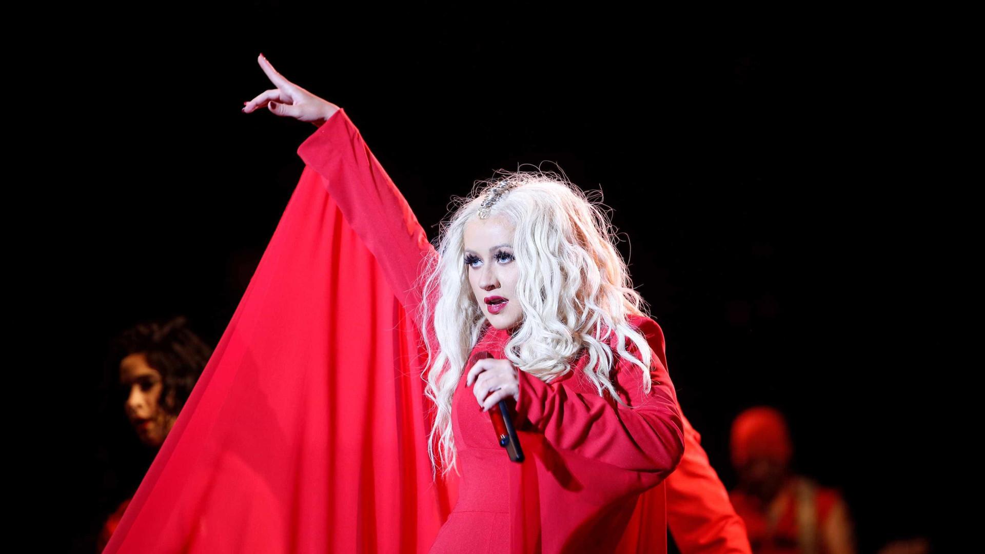 Christina Aguilera explica porque quis sair do The Voice
