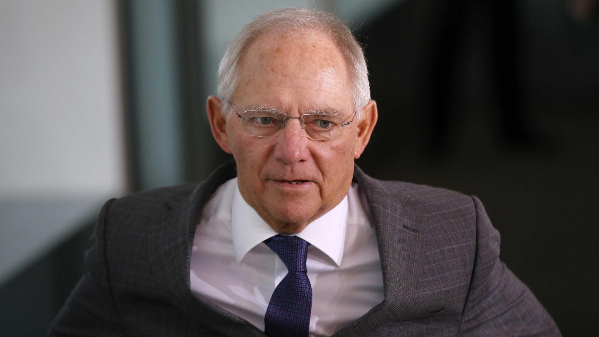 Schaeuble vai ser presidente do parlamento alemão
