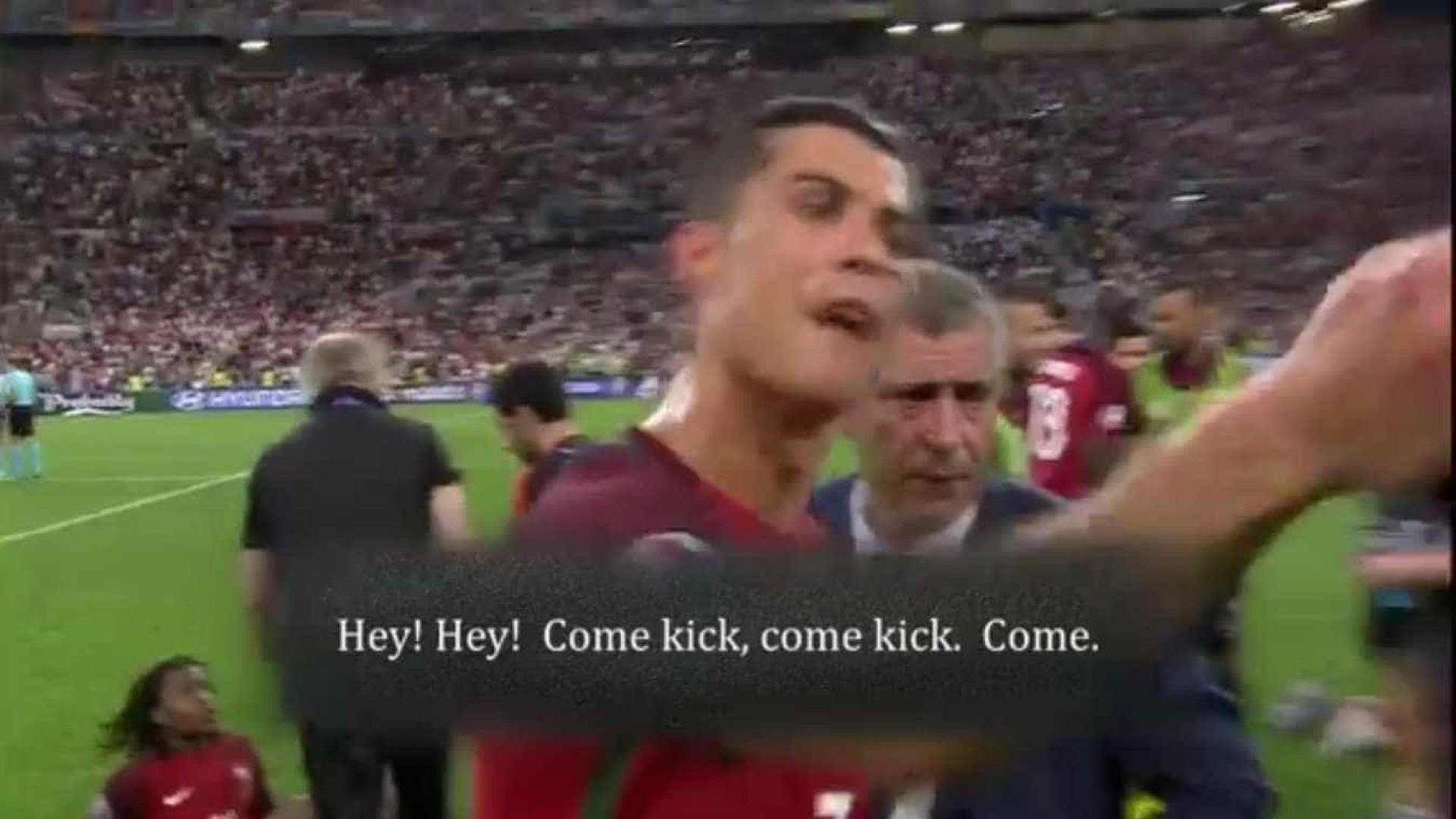 b20df46335 O que disse Ronaldo a Moutinho nos penaltis contra a Polónia