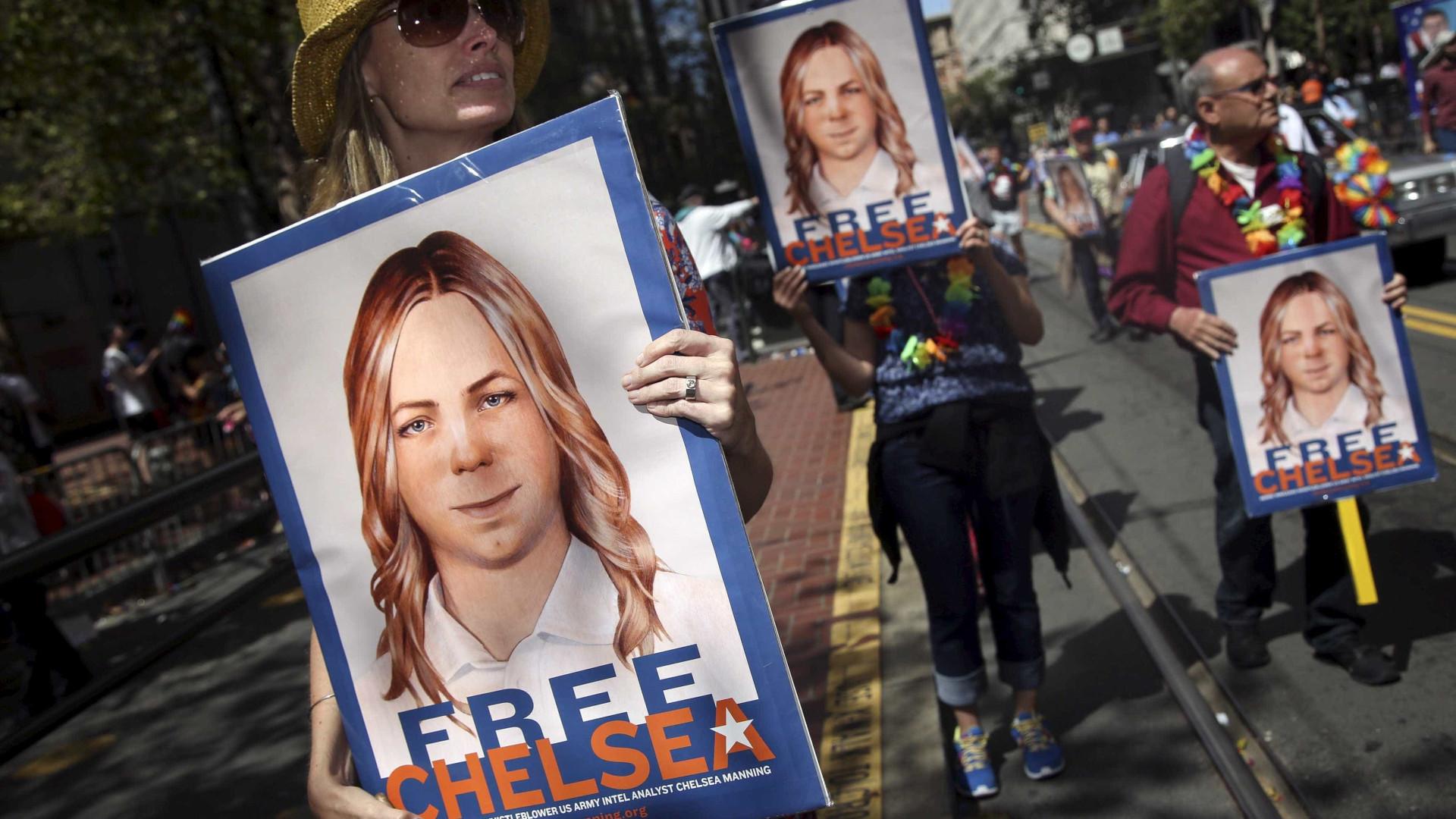 Em liberdade, Chelsea Manning apresenta-se ao mundo com novo visual