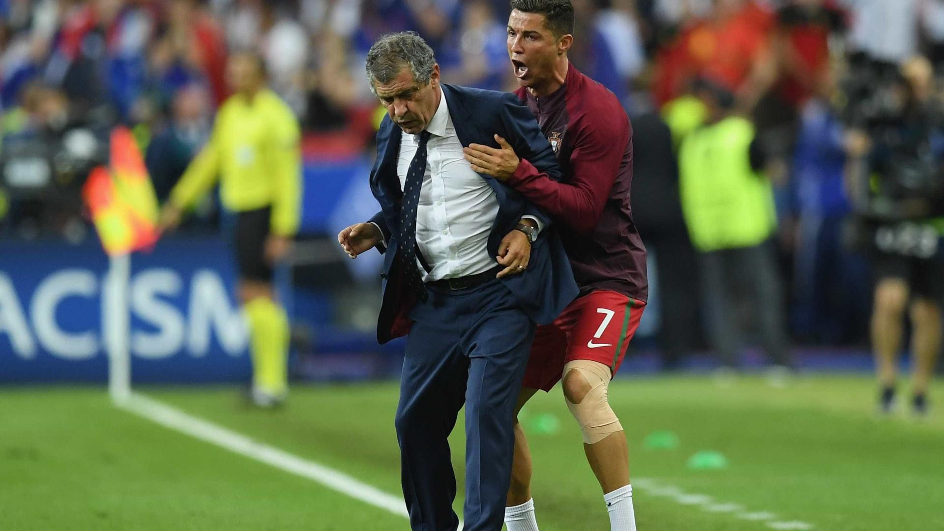 """""""Críticas a Ronaldo? Acontece aos melhores pintores e compositores"""""""