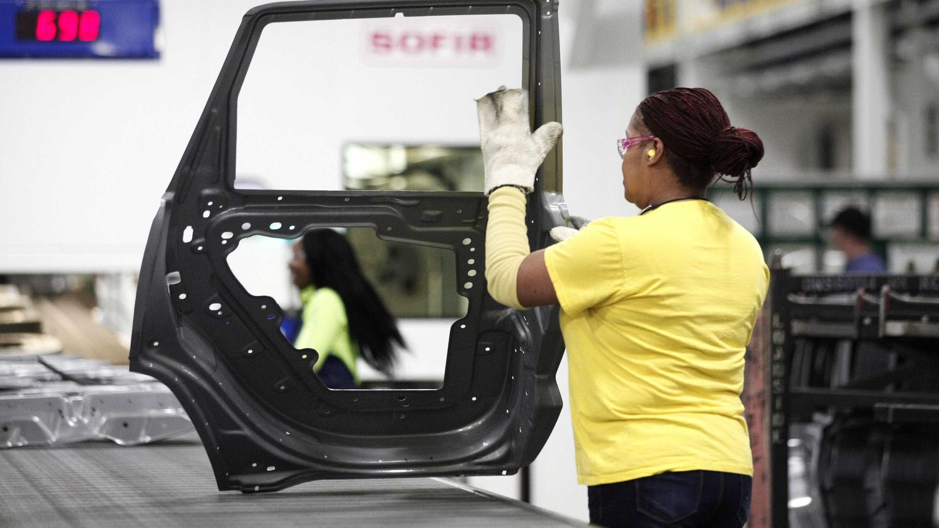 Produção automóvel em Portugal cresce 87,3% até setembro