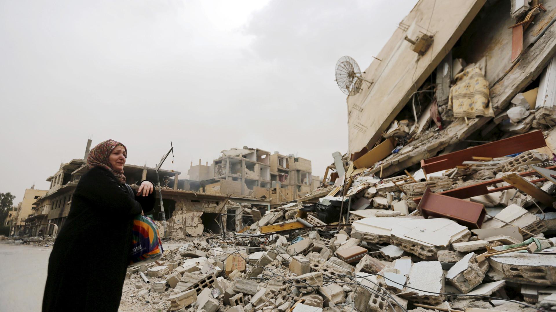 Aumentou para 50 mil o número de deslocados em Alepo