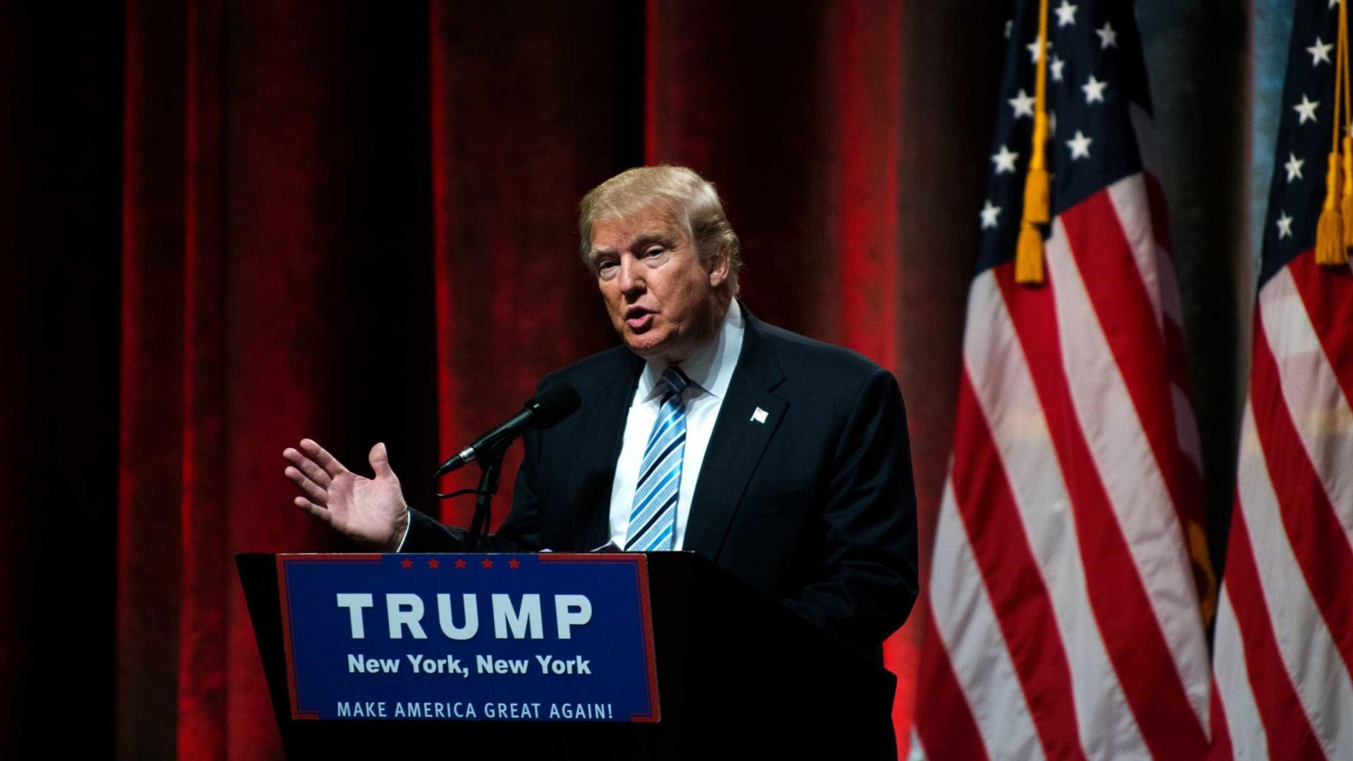 """Trump diz que tem """"excelente relacionamento"""" com Presidente do México"""