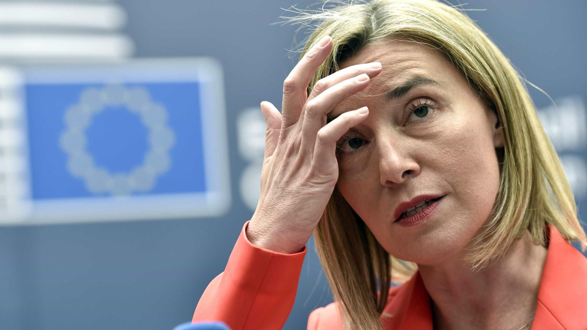 Chefe da diplomacia da UE quer retoma das conversações de paz de Genebra