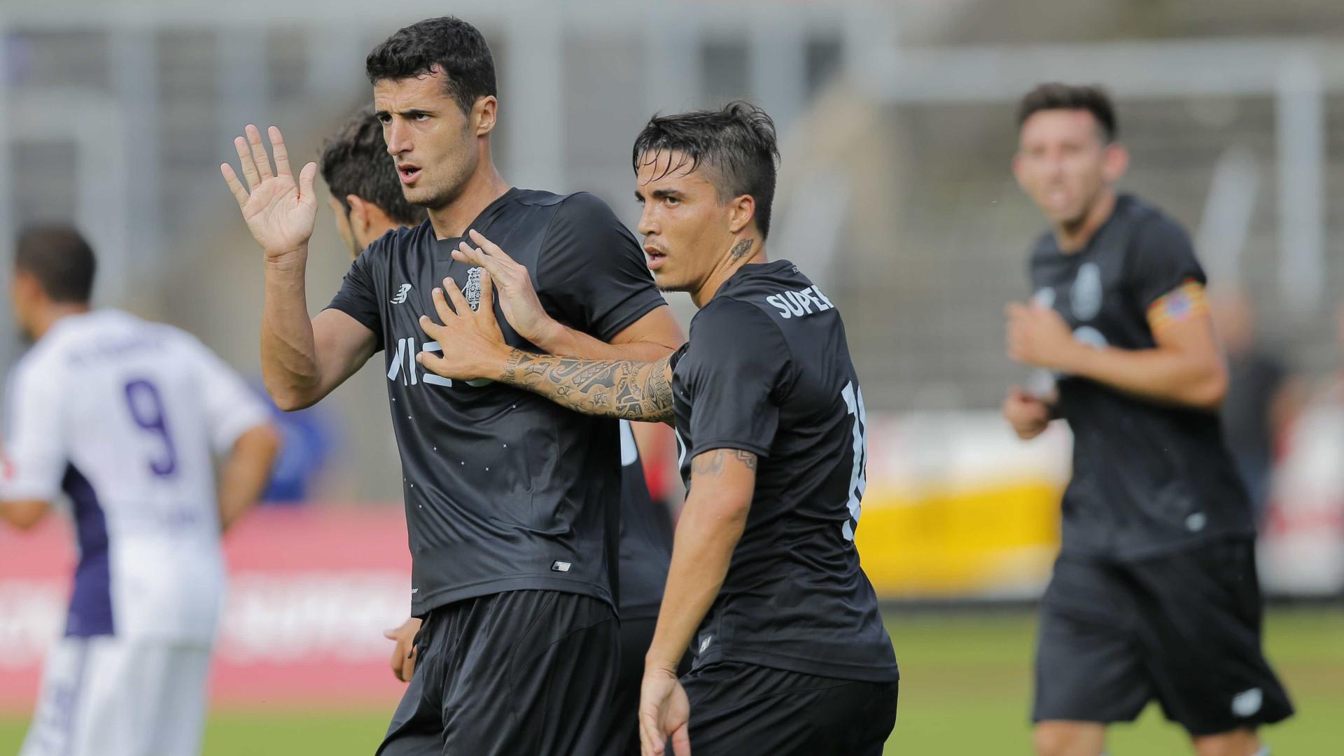 Os quatro jogadores do FC Porto que estão ainda sem colocação