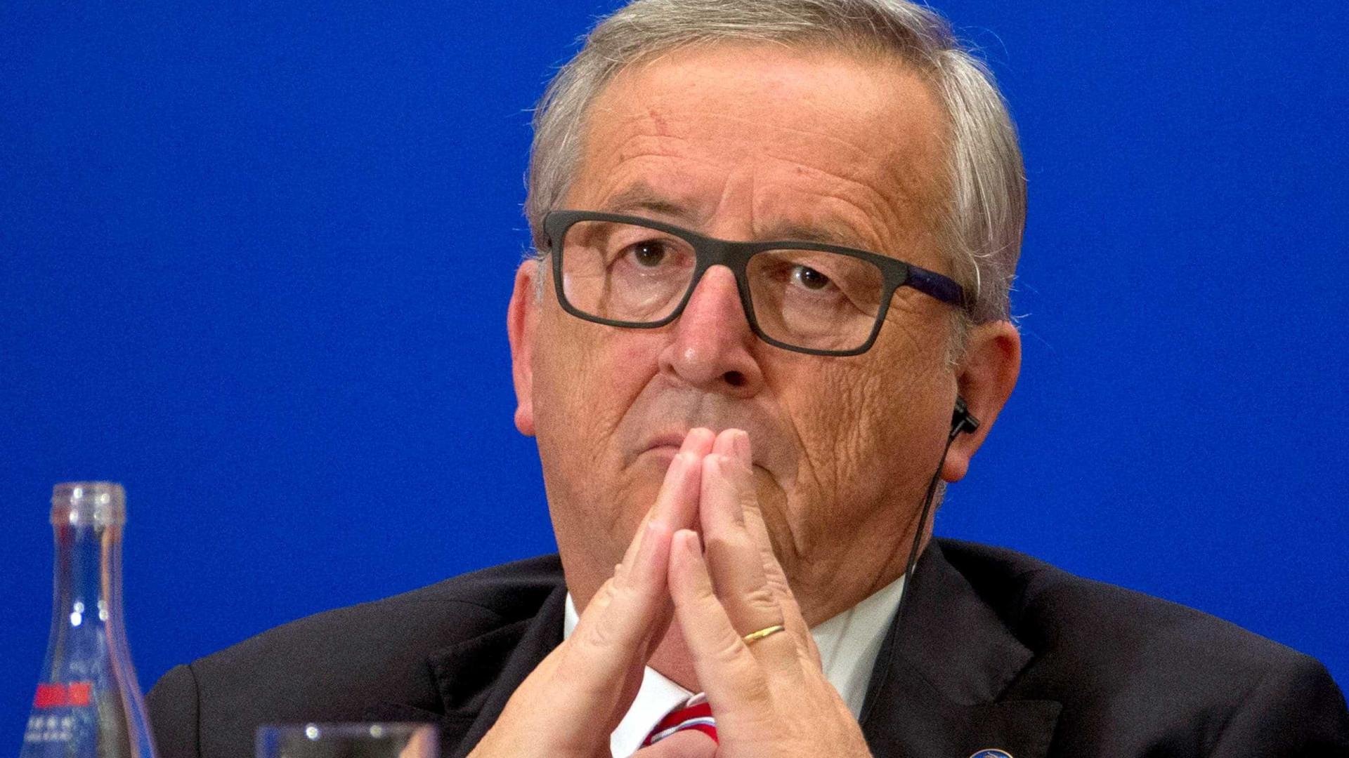 """Juncker diz que processo independentista na Catalunha foi """"um desastre"""""""
