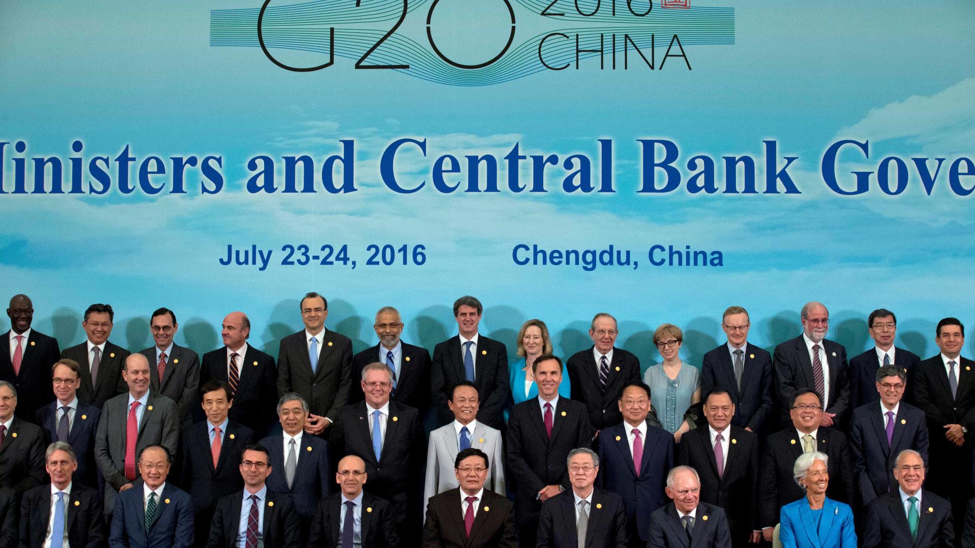 Trocas comerciais no G20 estagnaram após recuperação incipiente
