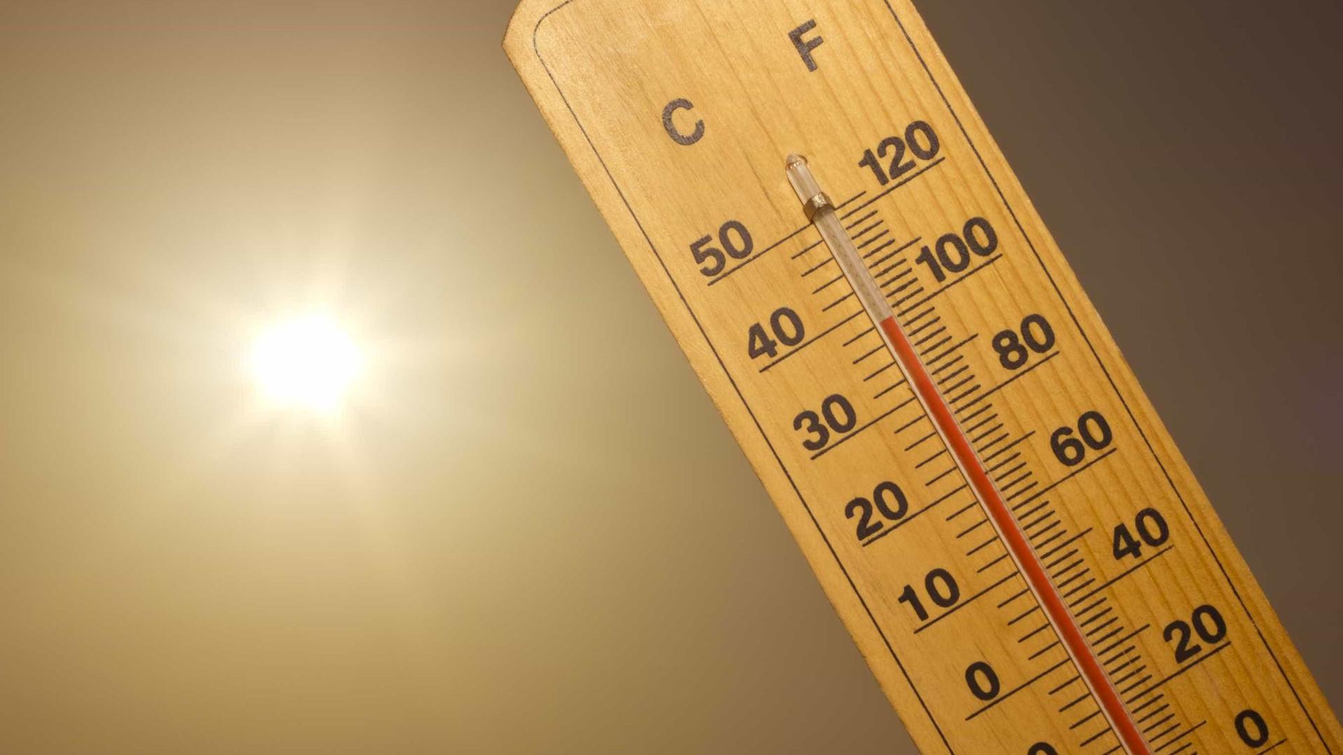 Mês começa quente e com risco máximo de incêndio em nove concelhos
