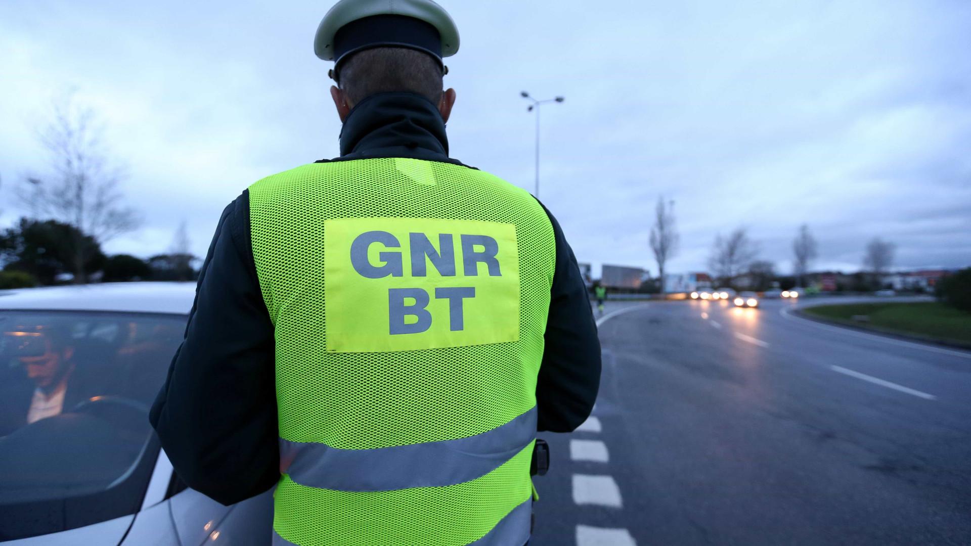 GNR deteve mais de 120 pessoas durante o fim de semana