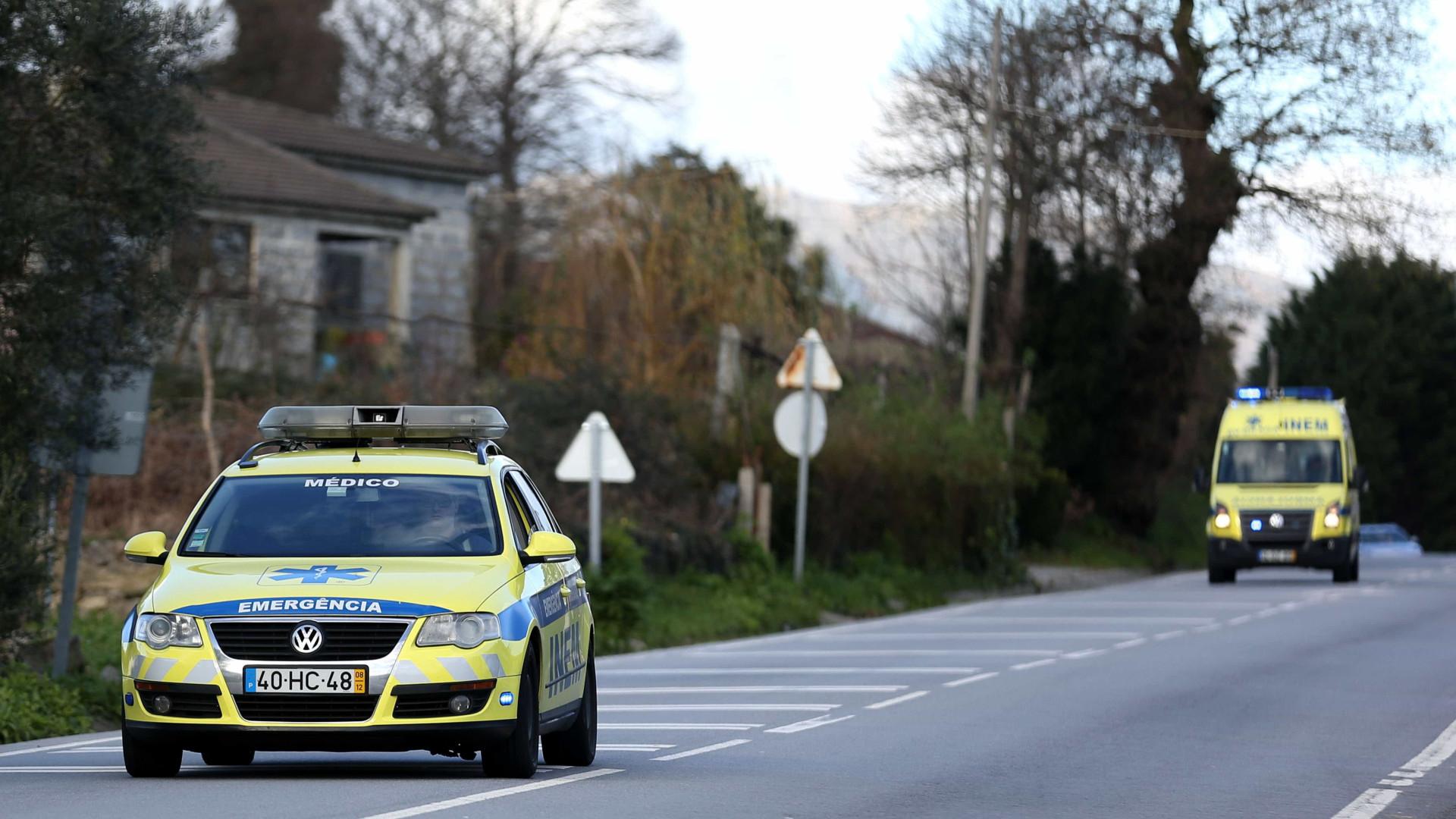 Atropelamento em Oeiras faz dois feridos
