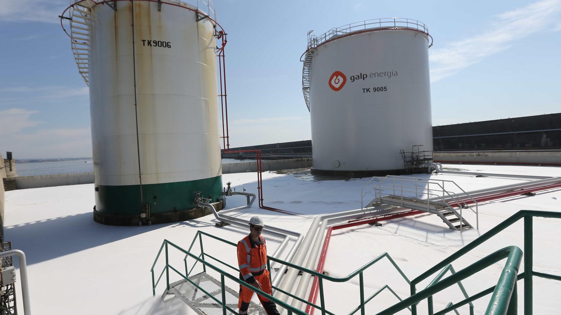 Produção de petróleo da Galp sobe 17% no 4.º trimestre