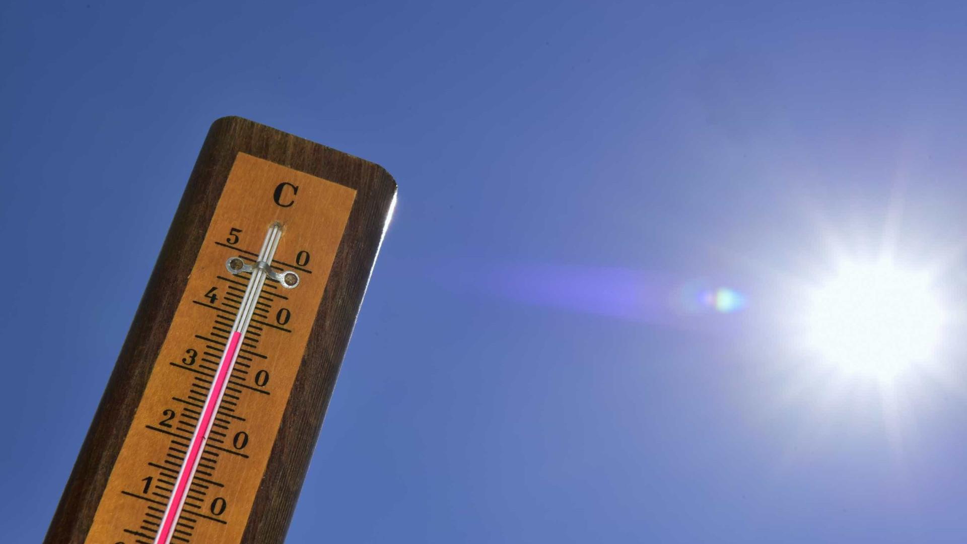 Fim de semana significa maiores temperaturas em todo o país