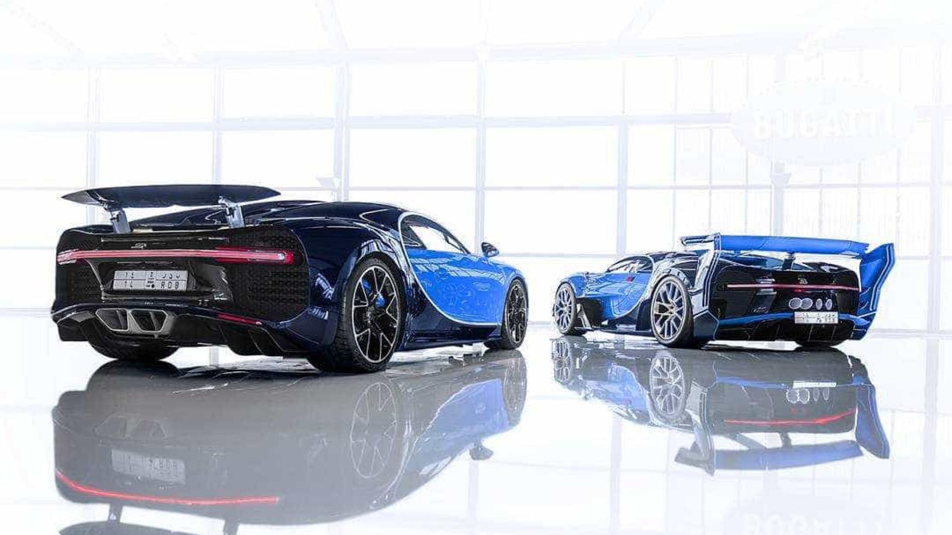 Bugatti prepara sucessor do Chiron