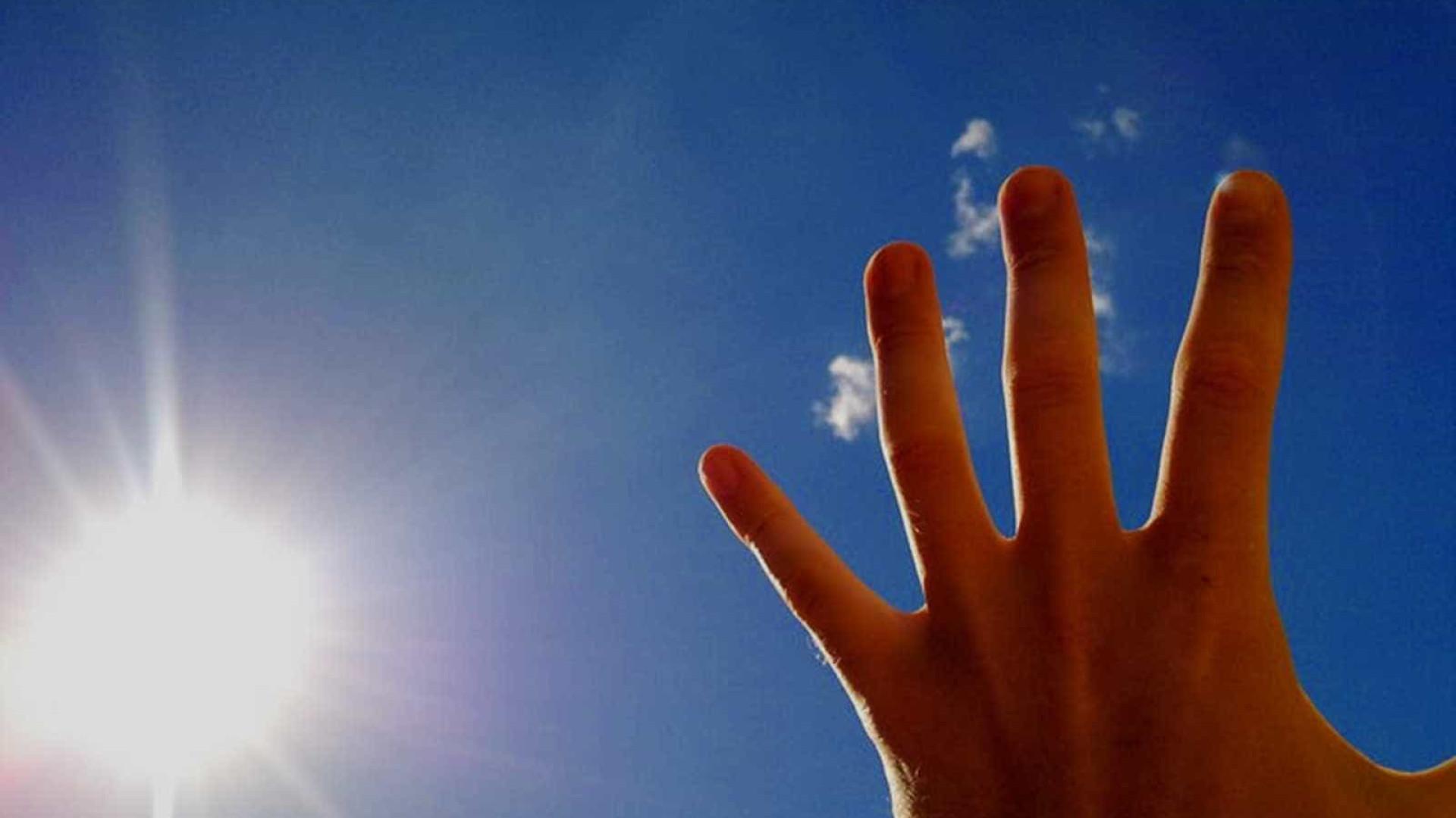 Fim de semana com temperatura amena no Litoral e perto dos 40 no Interior