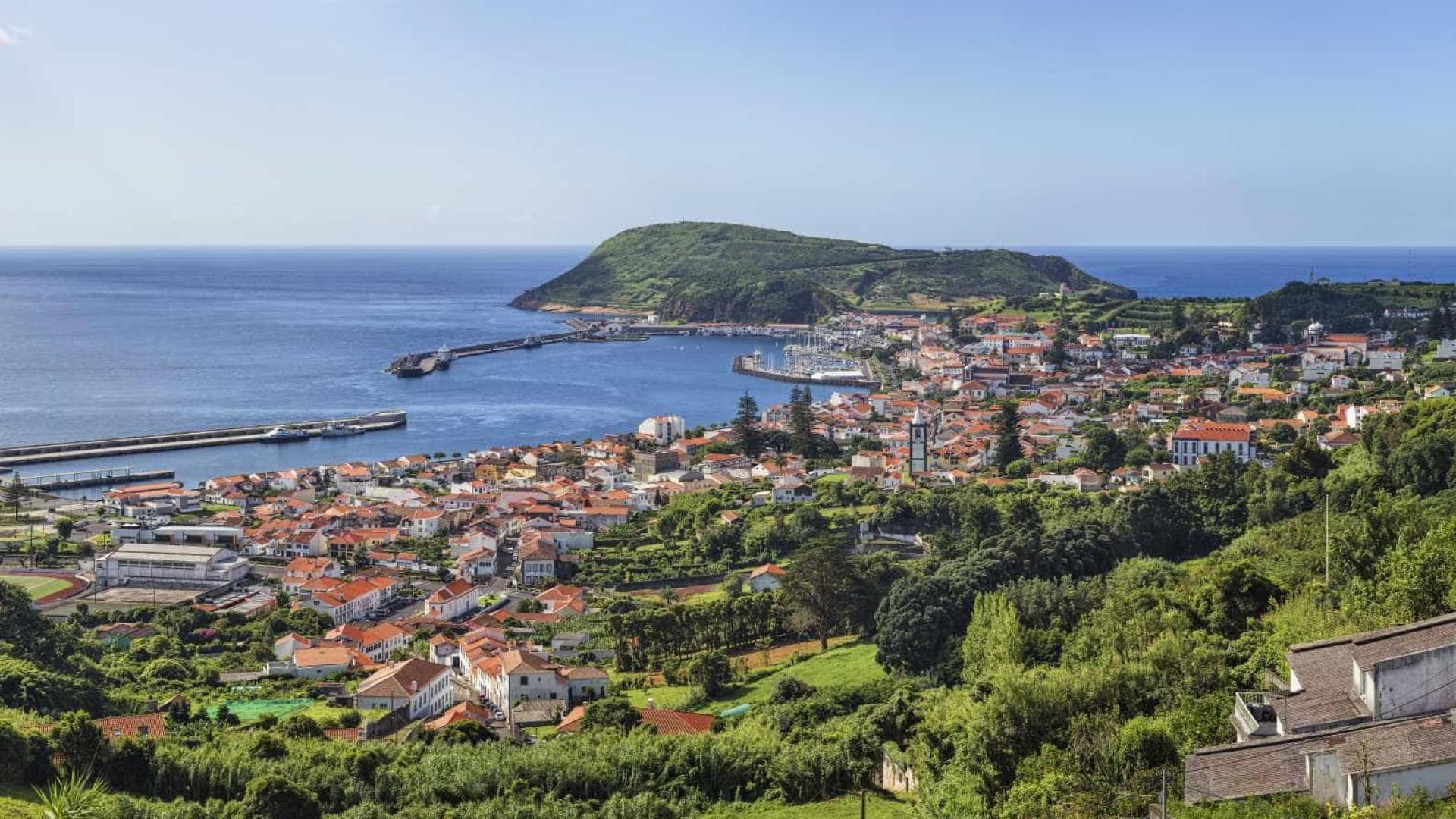 Atividade sísmica registada na Ribeirinha na ilha do Faial