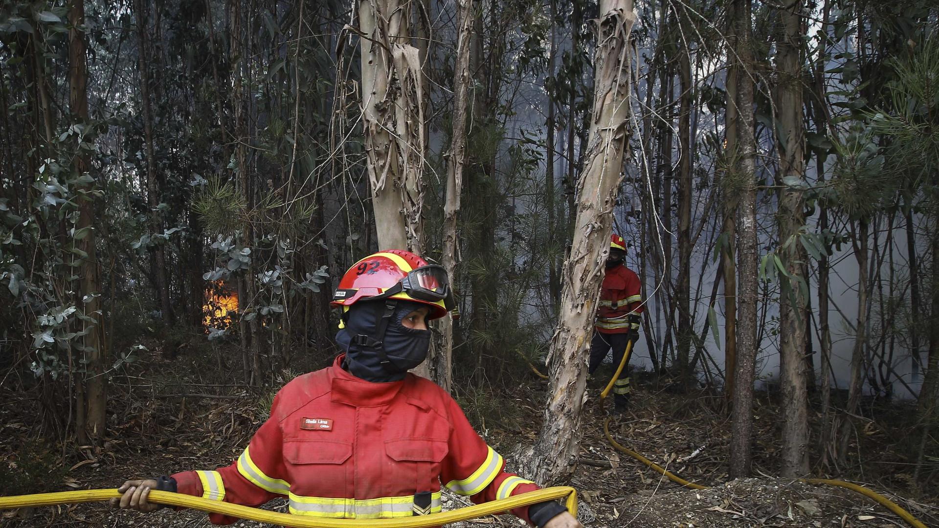 Proteção Civil: Alerta vermelho de incêndio prolongado até quarta-feira