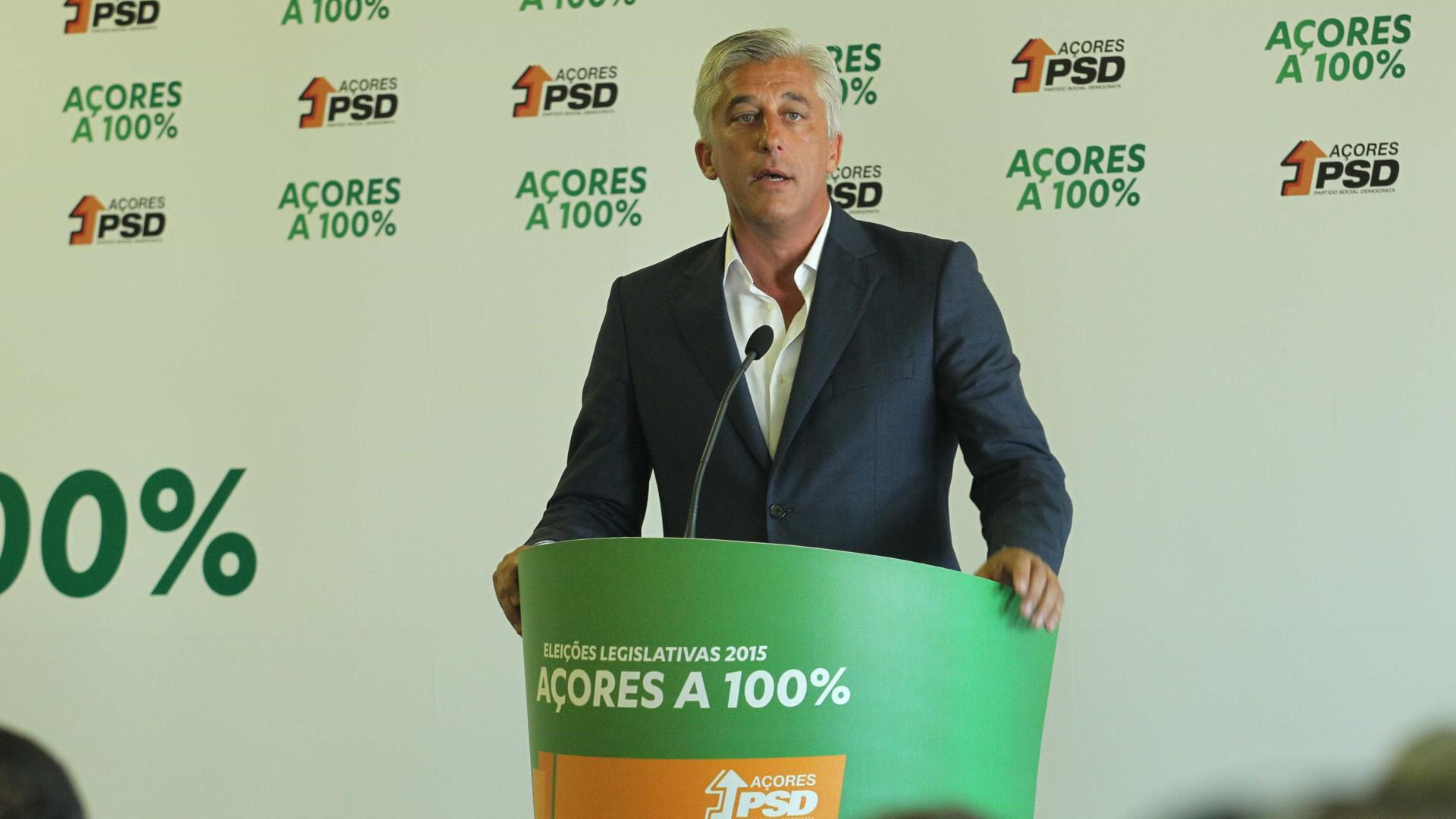 Duarte Freitas oficializa recandidatura à presidência do PSD/Açores