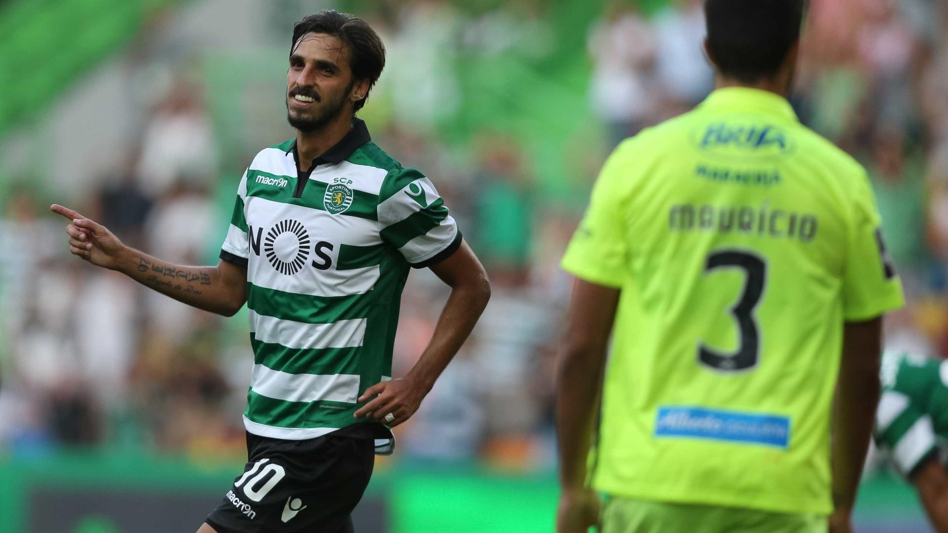 "Bryan Ruiz promete o ""compromisso de sempre"" no regresso ao Sporting"