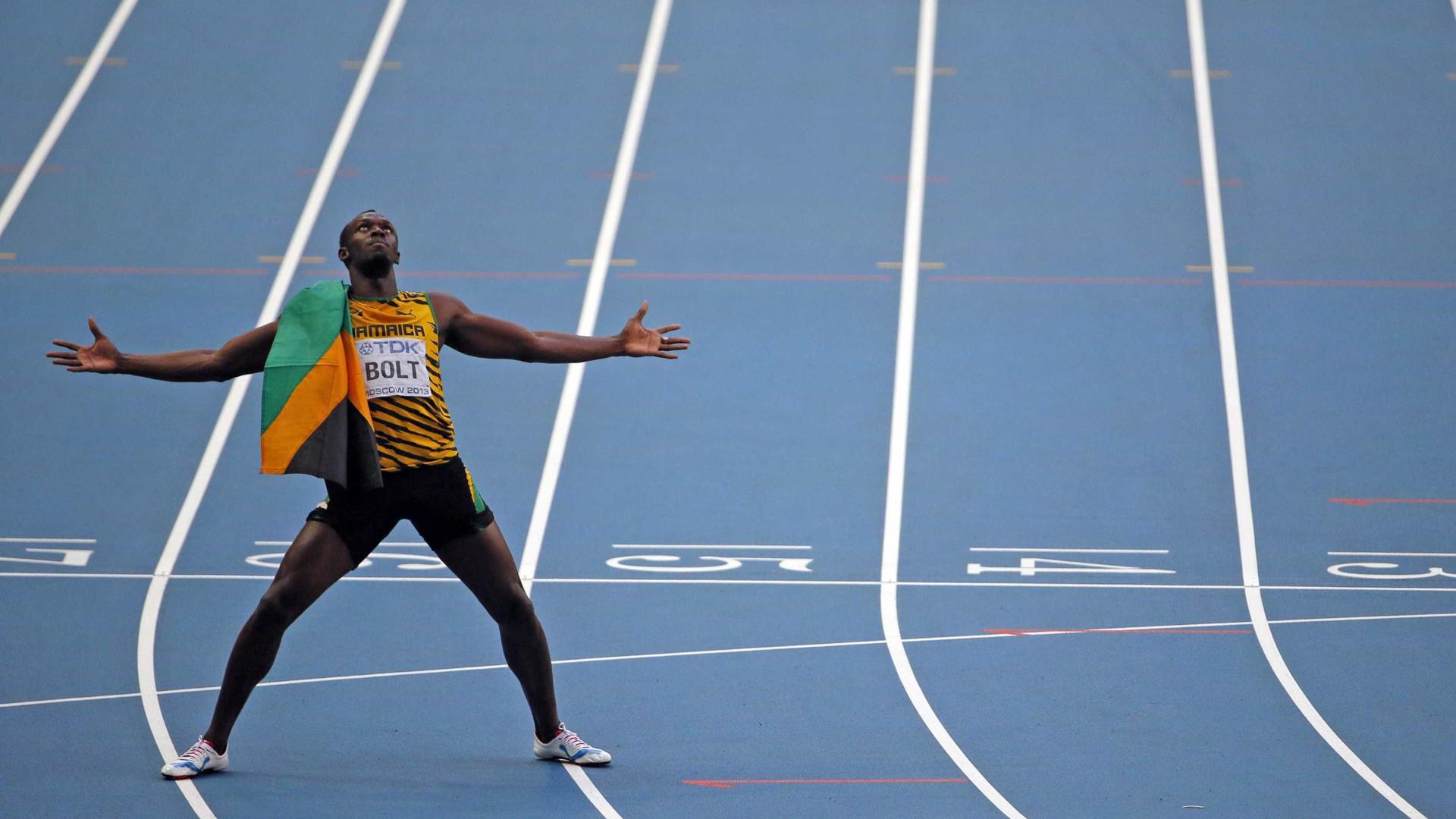 Bolt encerra carreira com medalha de bronze em Mundial