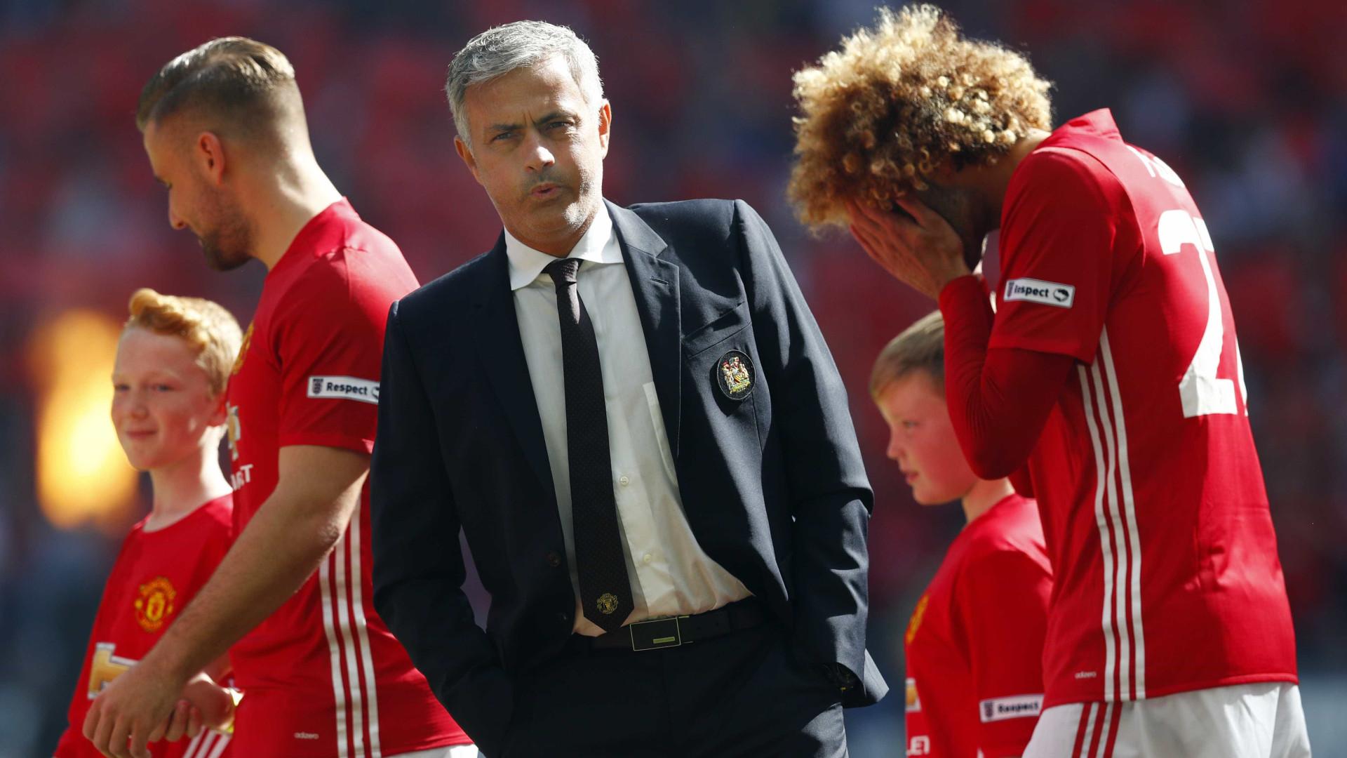 """José Mourinho: """"Não tínhamos a, b, c, d ou e, mas tivemos m, n, o, p"""""""