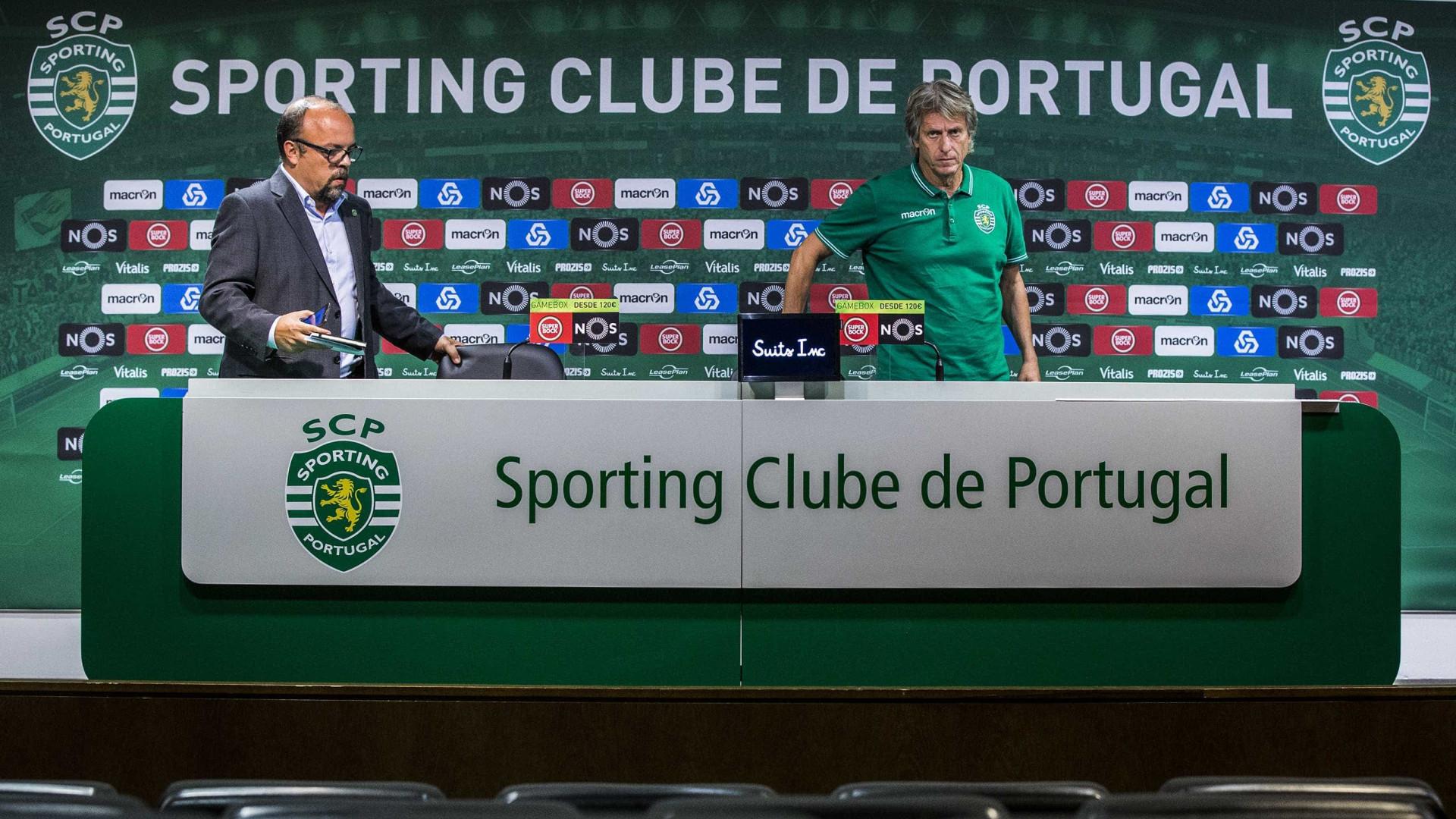 """Vouchers: Sporting diz que Benfica """"atenta à inteligência humana"""""""