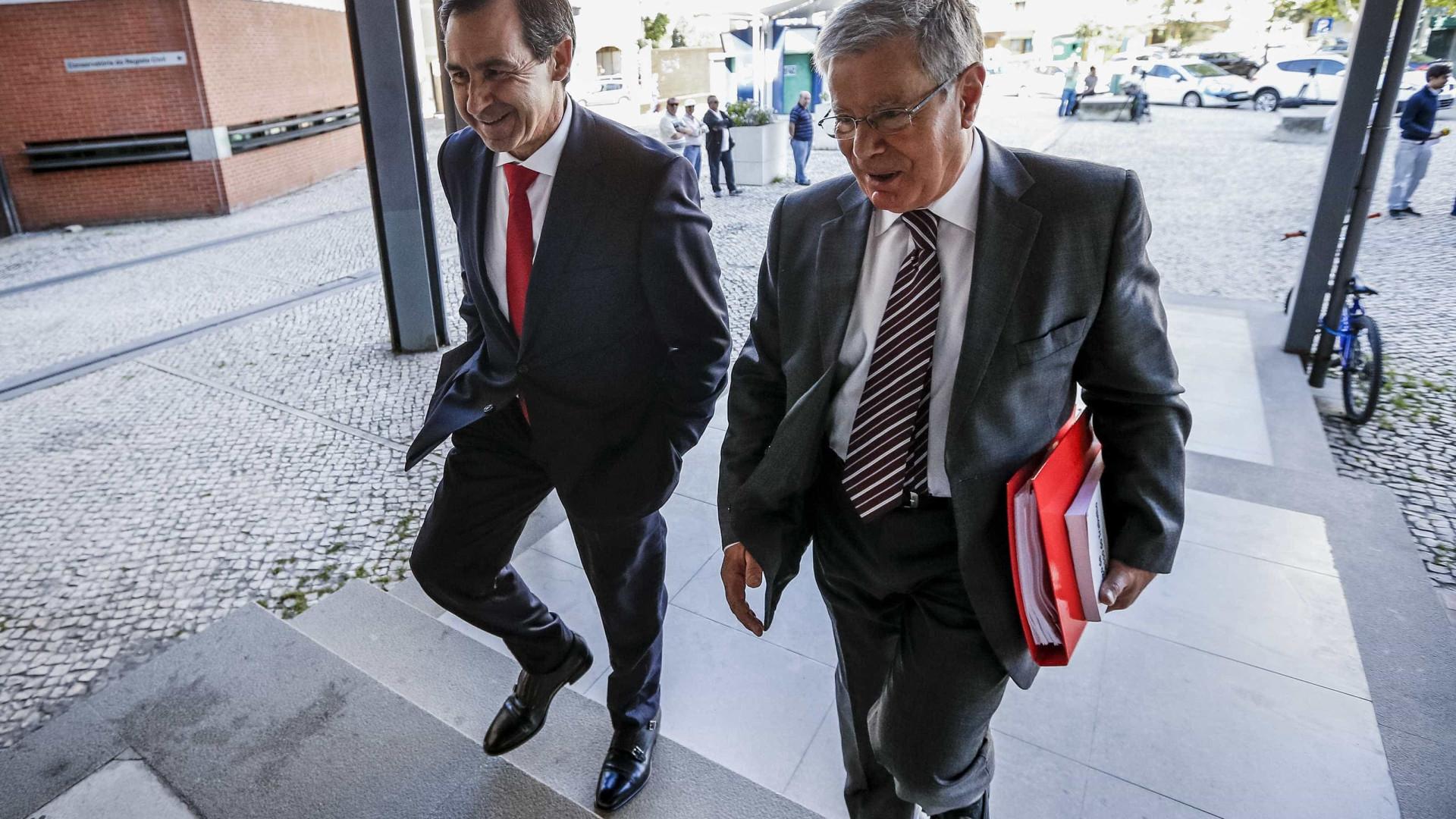 """Buscas no Benfica visaram """"documentação contabilística"""", diz advogado"""