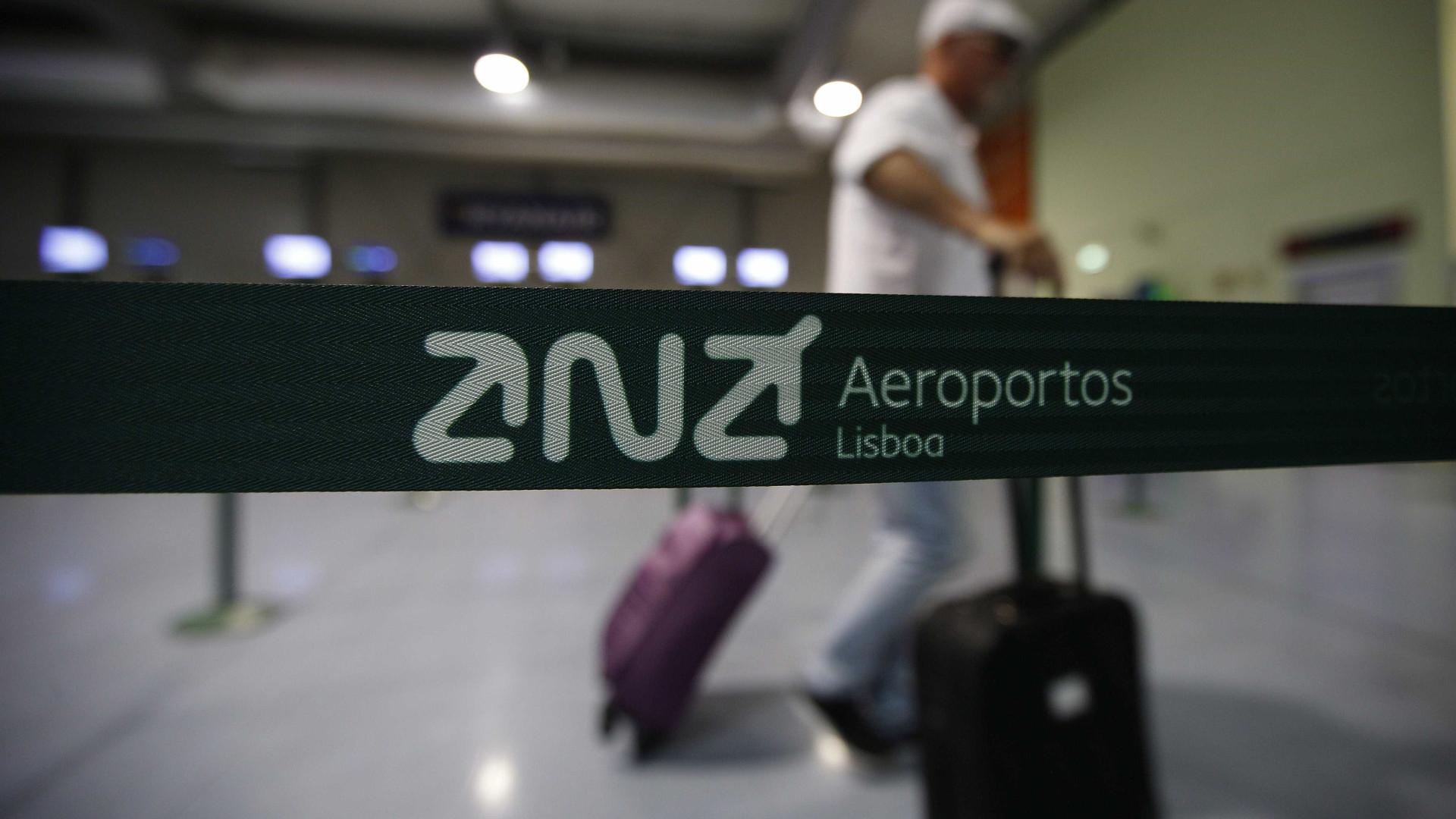 Alerta de segurança no aeroporto de Lisboa obriga a isolar área
