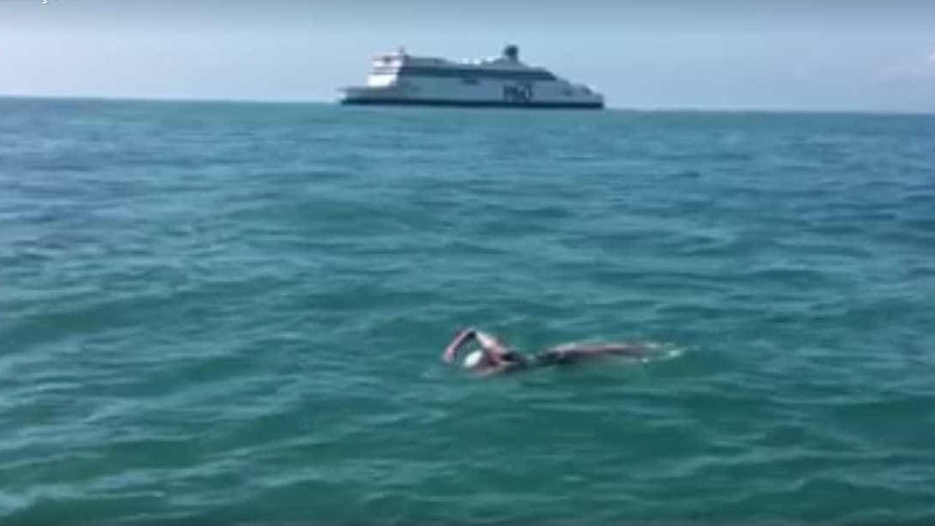 Filantropa lusa obrigada a desistir de travessia do Canal da Mancha