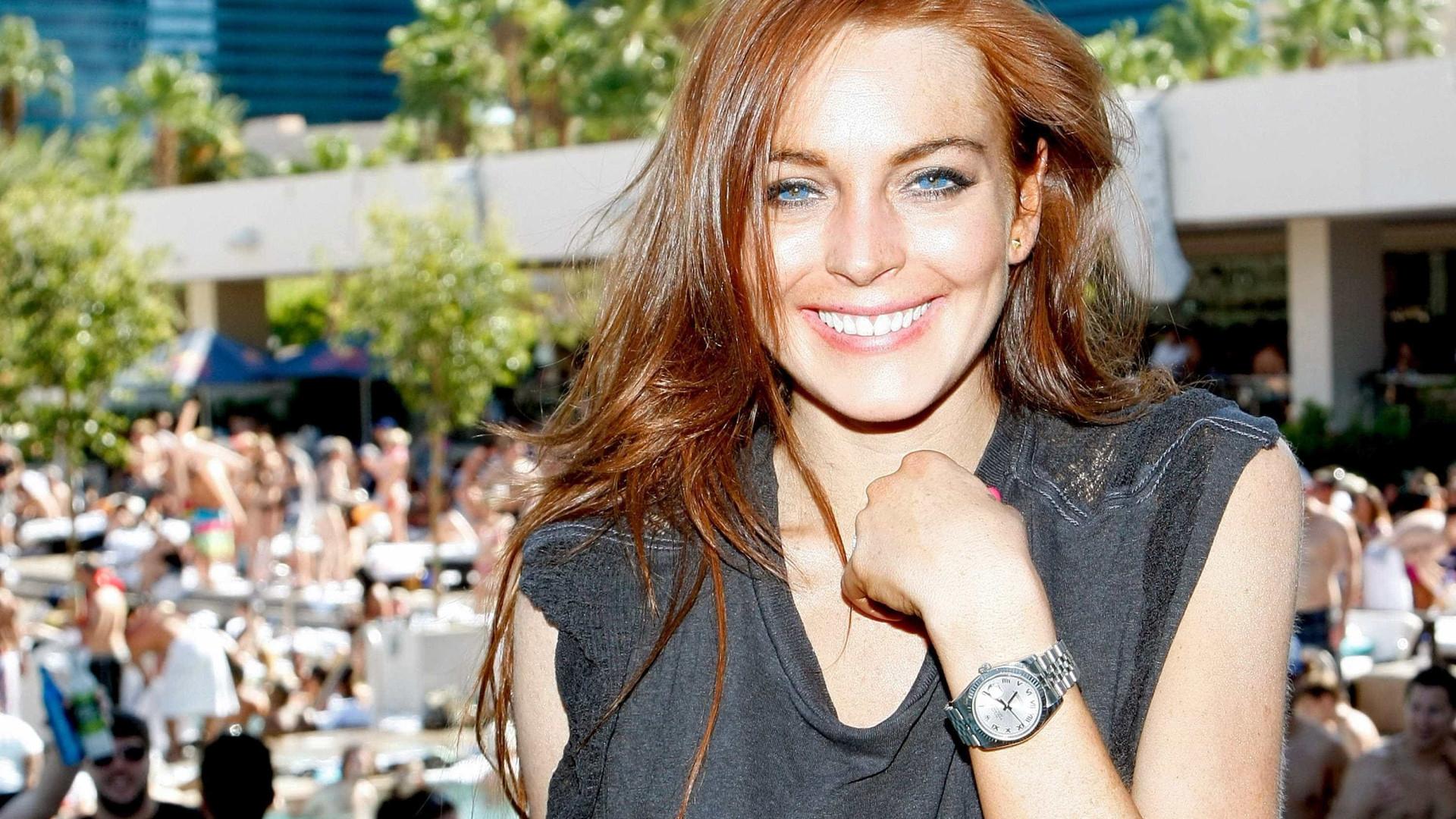 Será que Lindsay Lohan tem jeito para a cozinha?