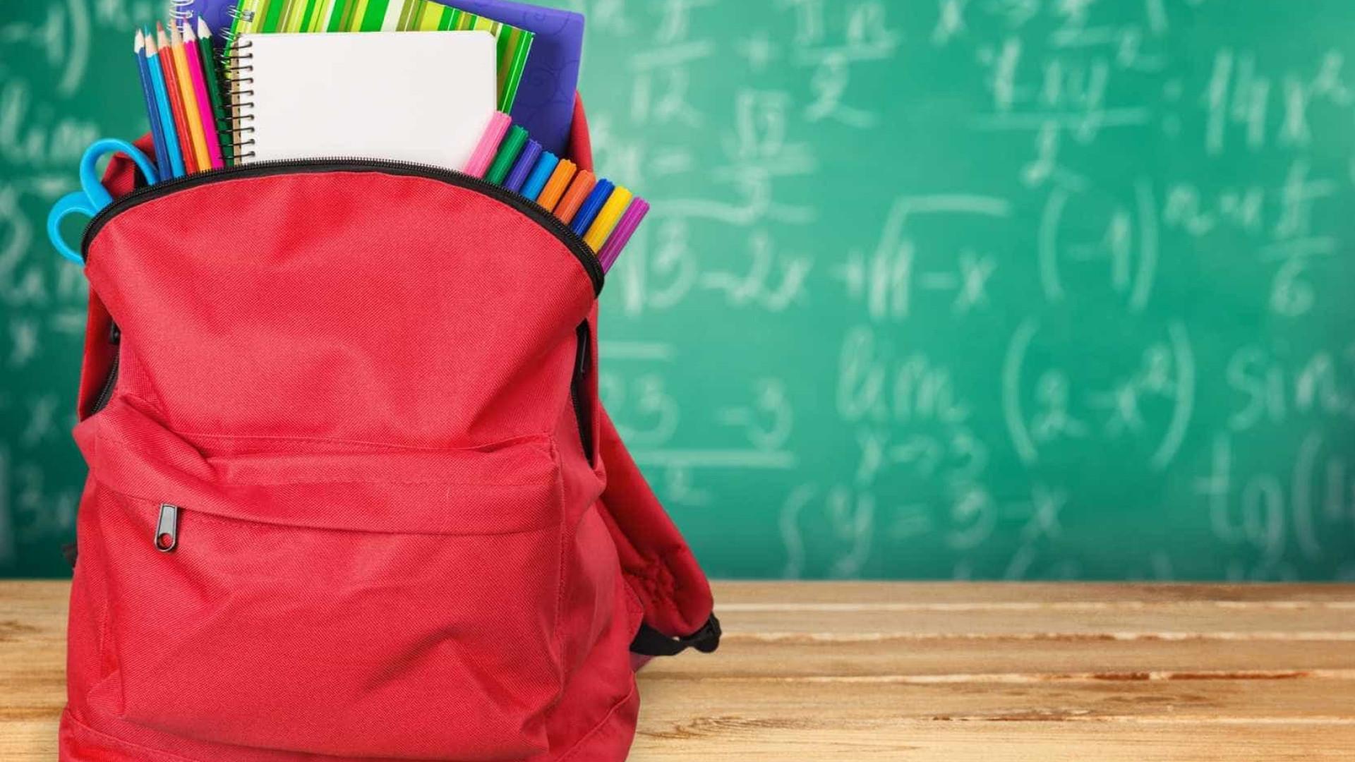 Famílias gastam em média 393 euros com material escolar