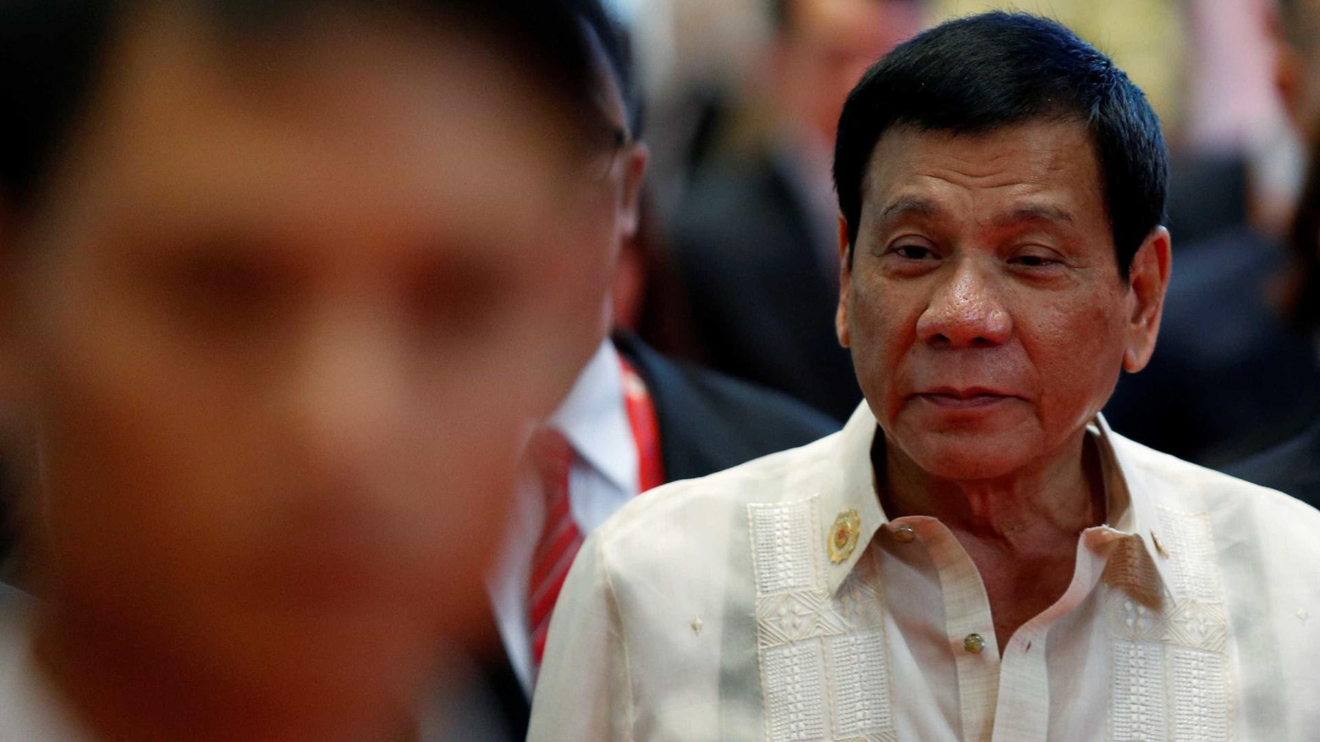 Presidente das Filipinas pede extensão da lei marcial no sul do país
