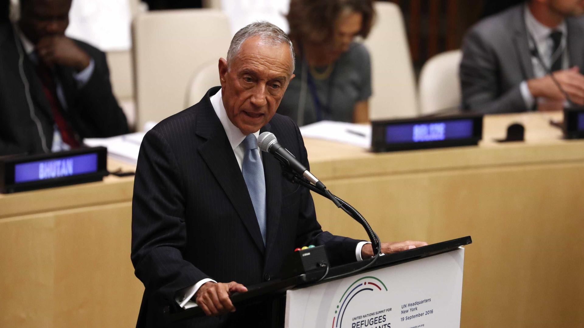 Marcelo recebe partidos e nova direção do PSD após congresso