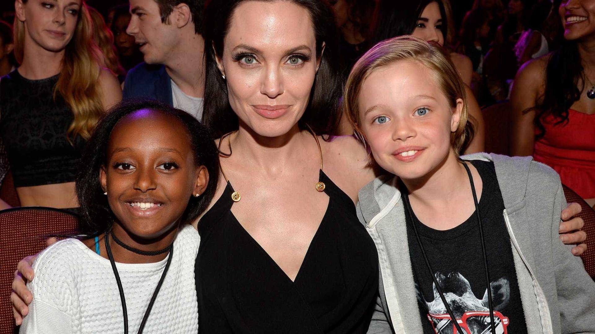 Angelina Jolie determina home school para seus filhos