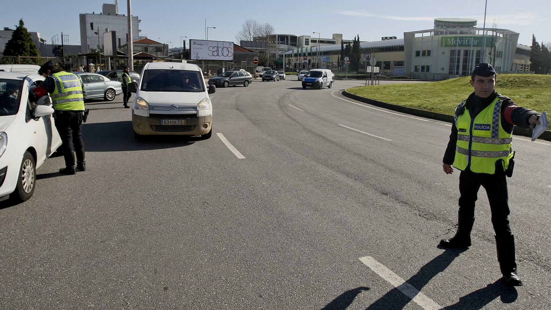 Dez detidos pela PSP nas principais estradas da cidade do Porto