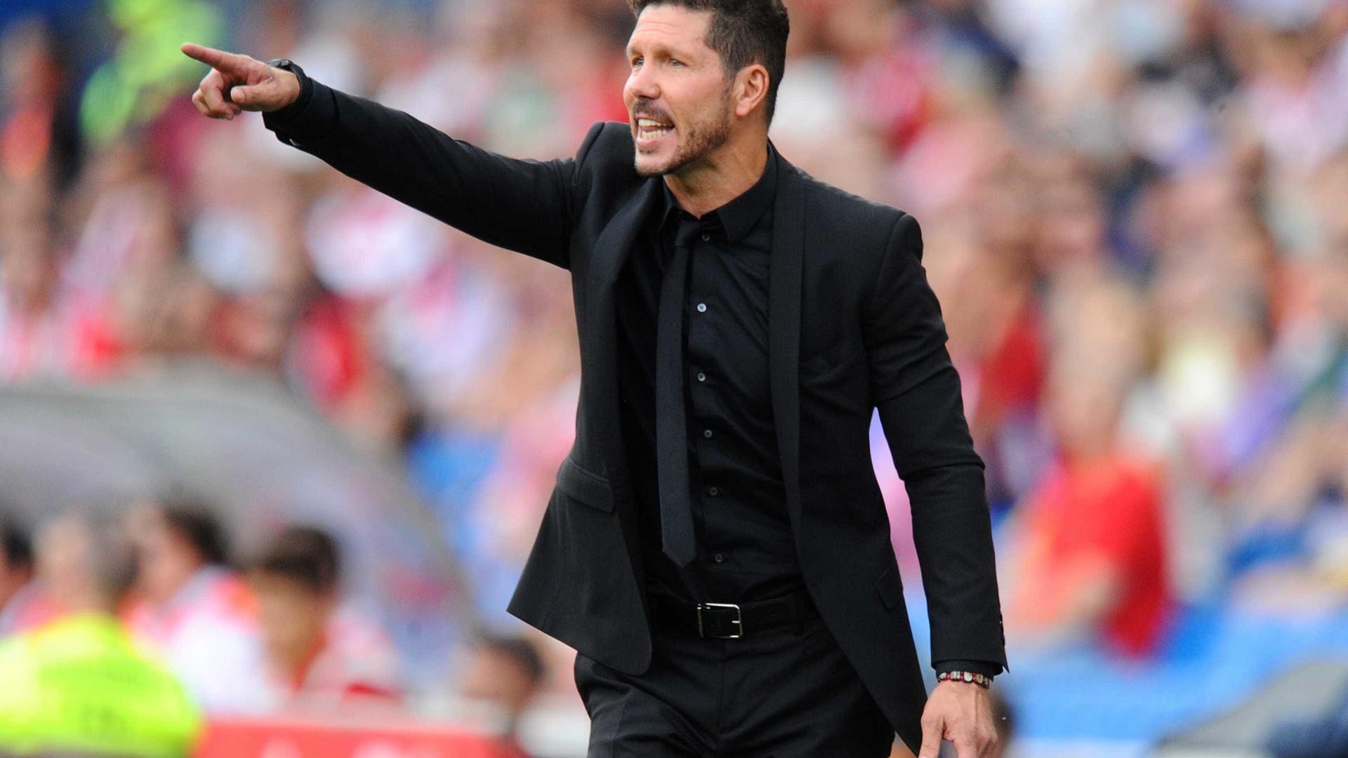 Manchester United: Agora, é a vez de Diego Simeone