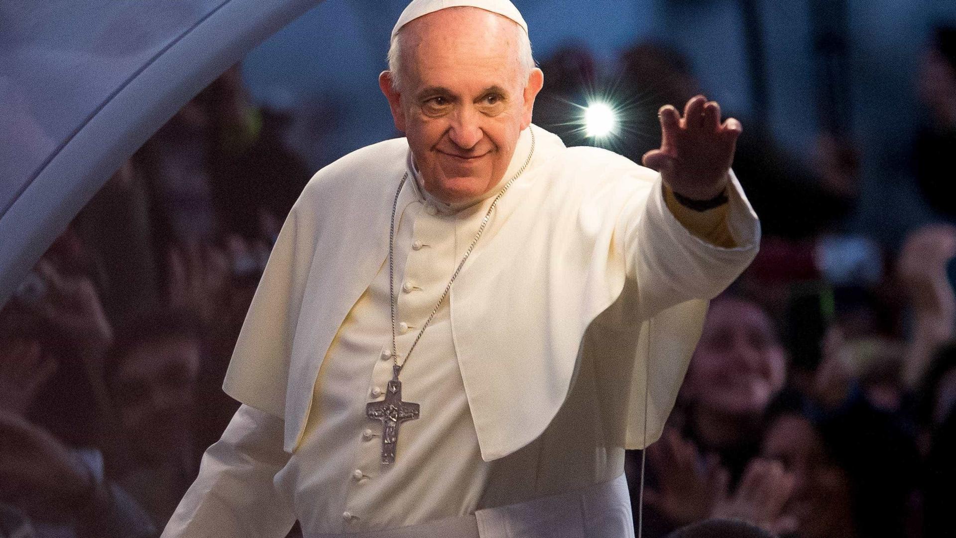 """Papa Francisco pede que """"em nenhuma parte existam crianças soldados"""""""
