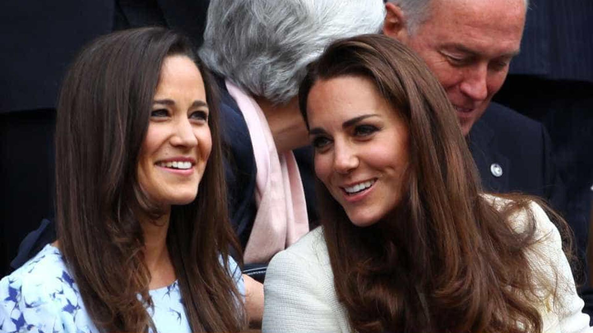Kate Middleton não pode ser dama de honor no casamento da irmã