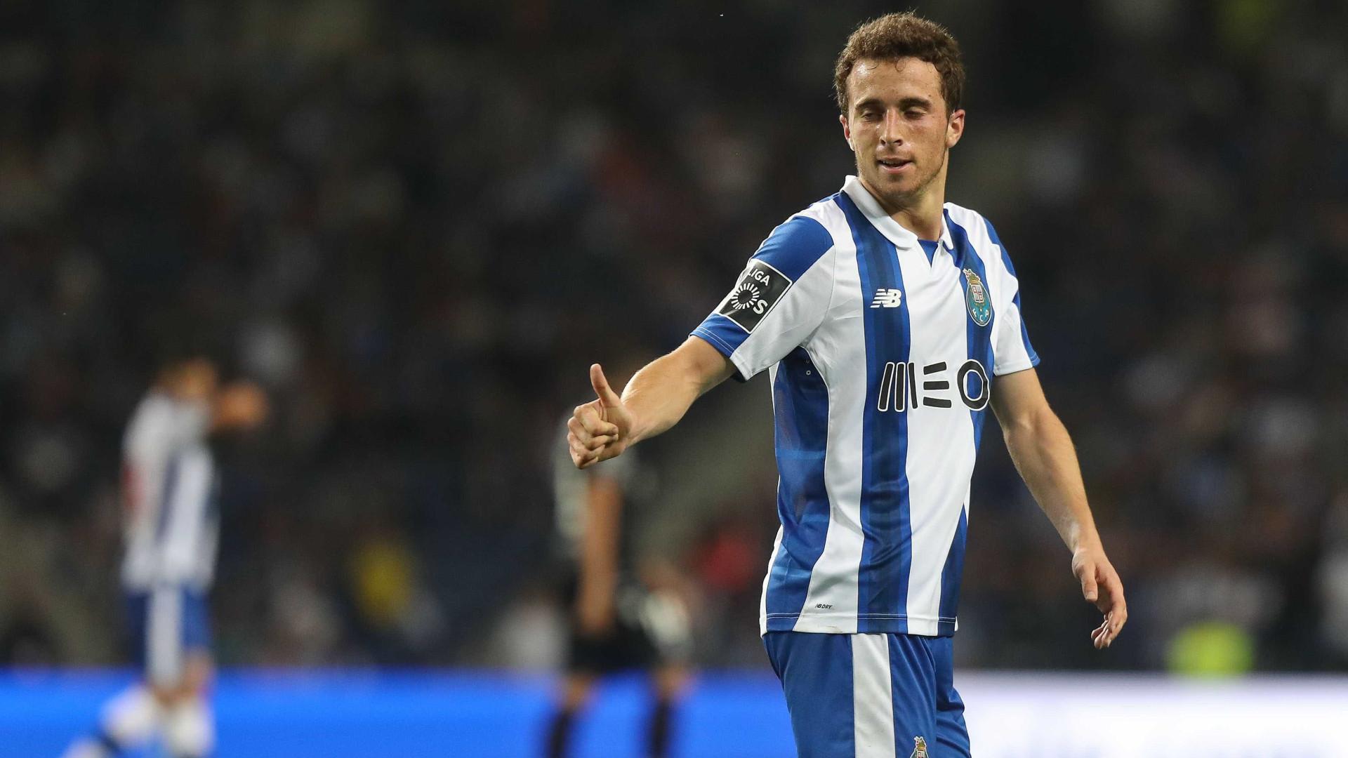 """""""Voltar ao Atlético? De momento só penso no FC Porto"""""""