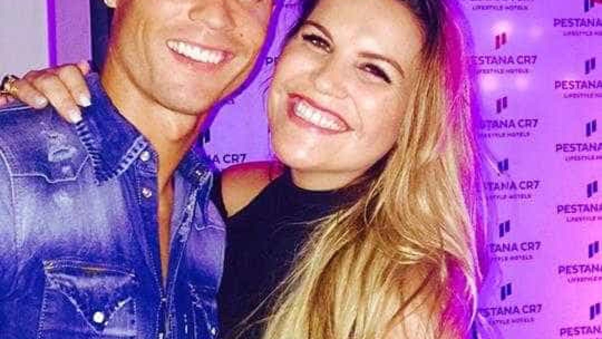 """Katia Aveiro deixa mensagem a Ronaldo: """"Continuas de pé"""""""