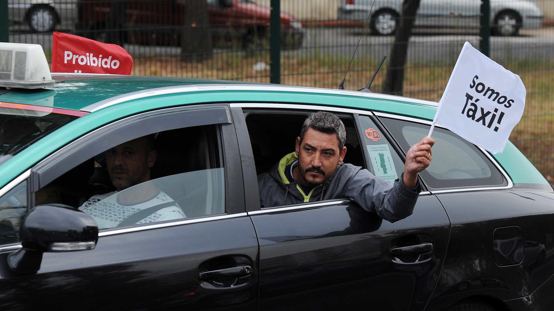 Manifestação de taxistas vai cortar o trânsito em Lisboa já amanhã