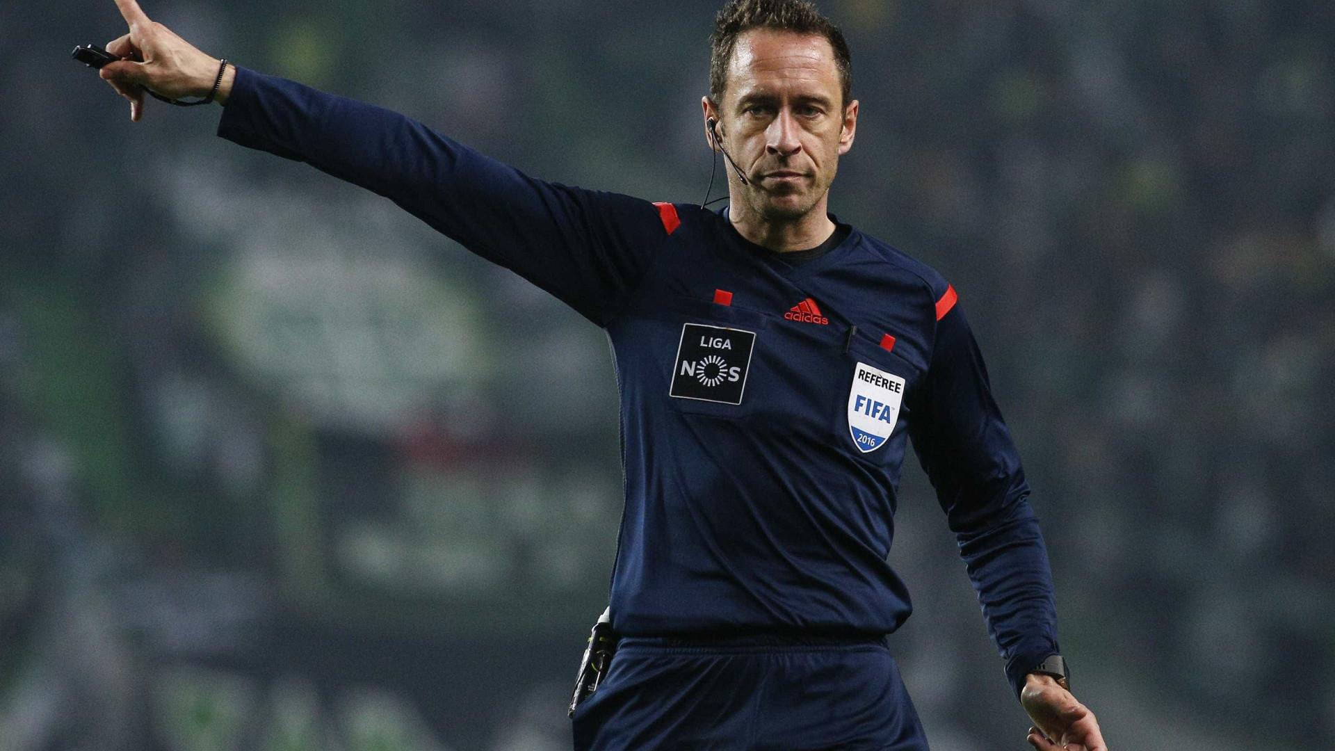 Já é conhecido o árbitro do Benfica-FC Porto