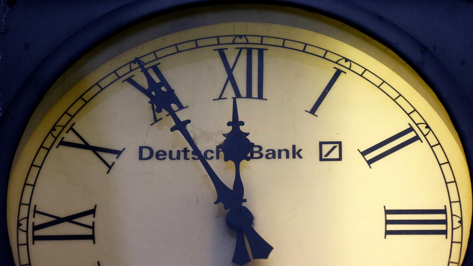 Deutsche Bank multado nos EUA em quase 160 milhões de dólares