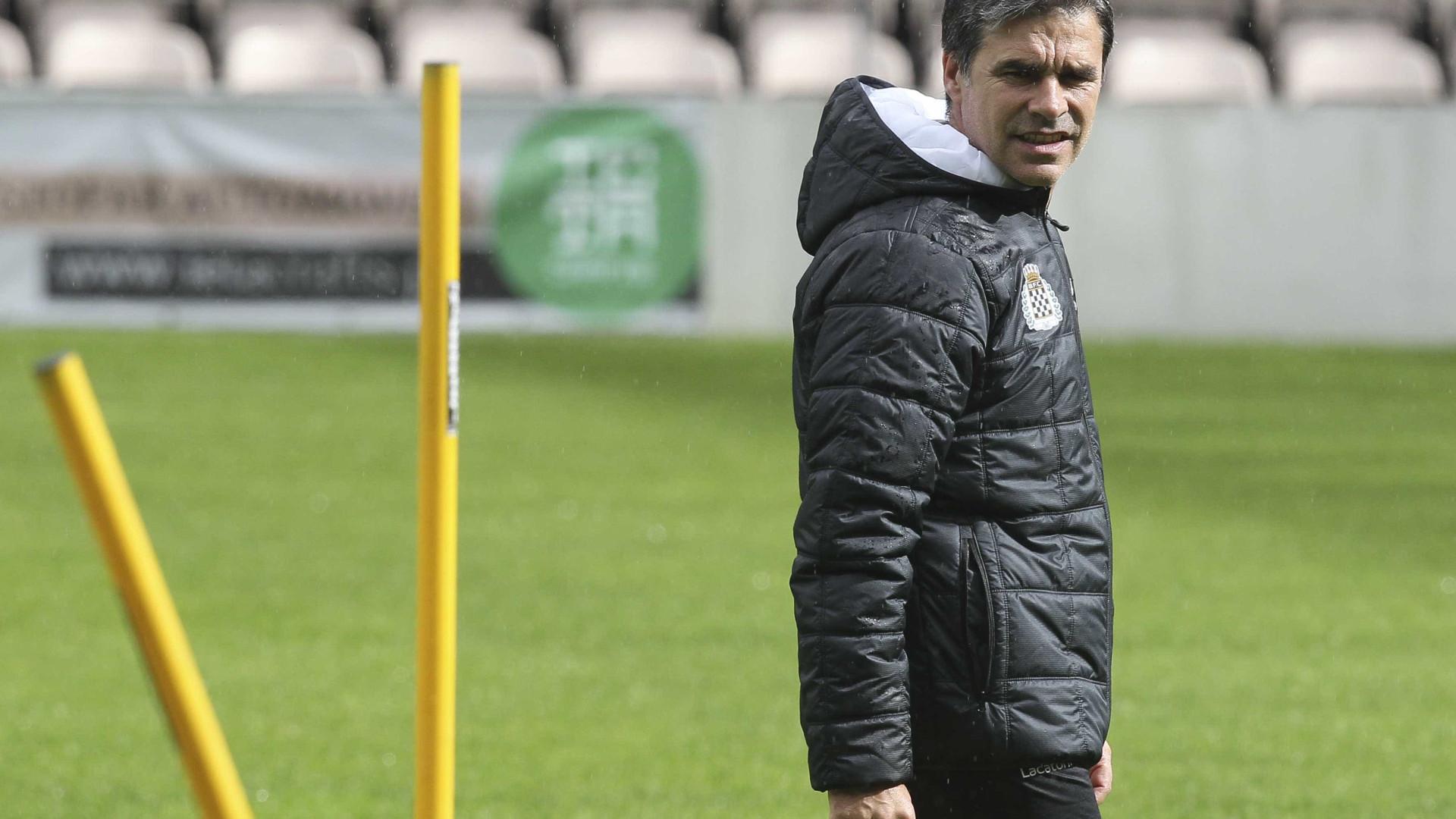 """Boavista espera jogo """"claramente difícil"""" com o rival Guimarães"""