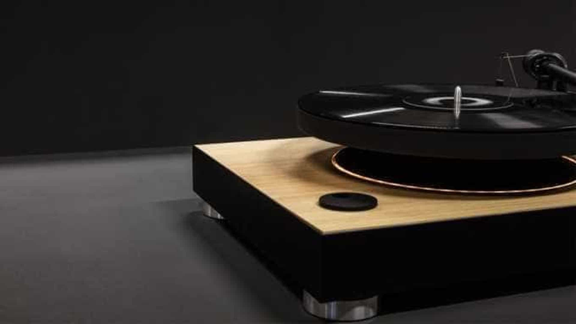 MAG-Lev Audio é o primeiro gira-discos flutuante