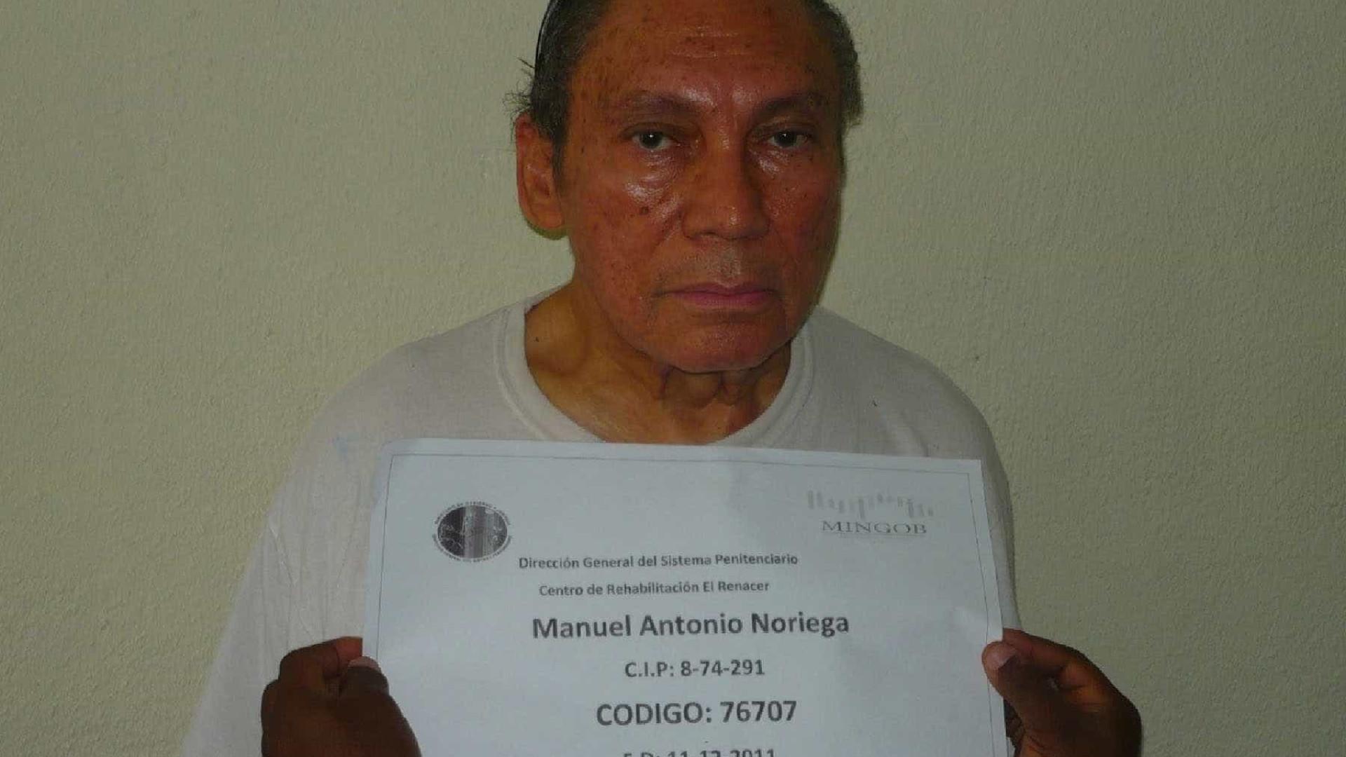 Ex-ditador Noriega em prisão domiciliária por tempo indefinido