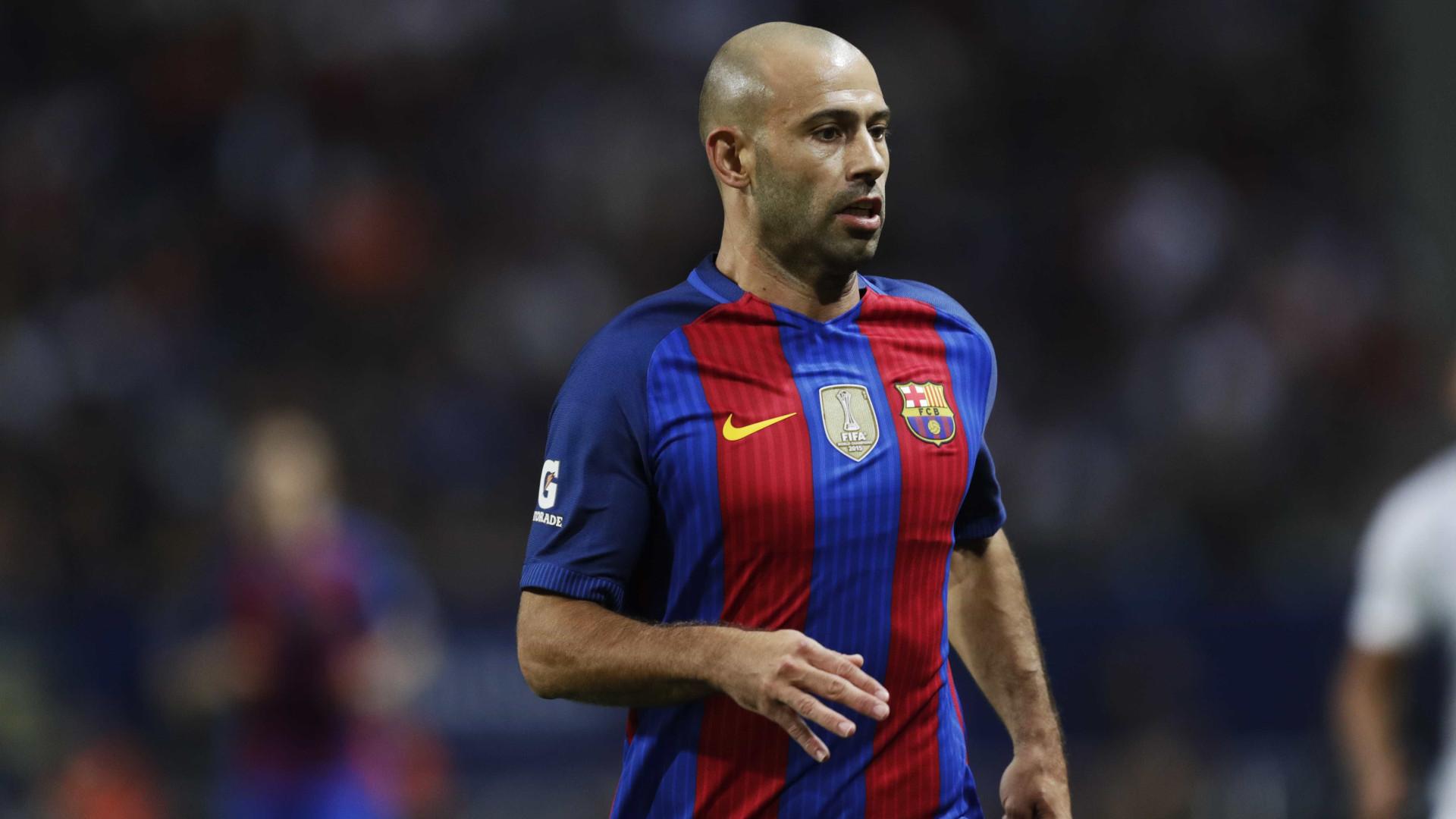 Mascherano quer sair e faz ultimato ao Barcelona