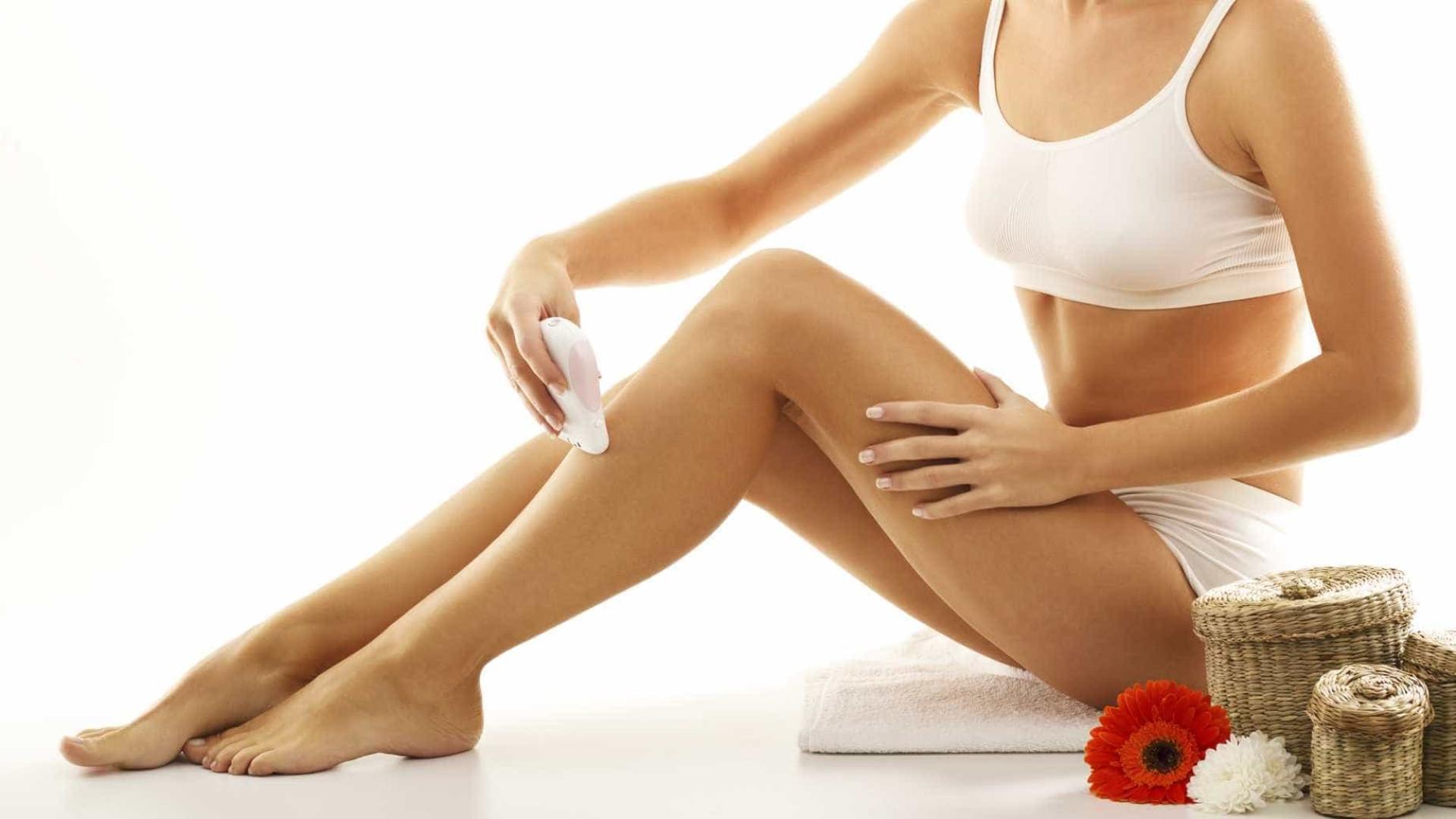 Tudo o que pode estar a fazer mal durante a depilação